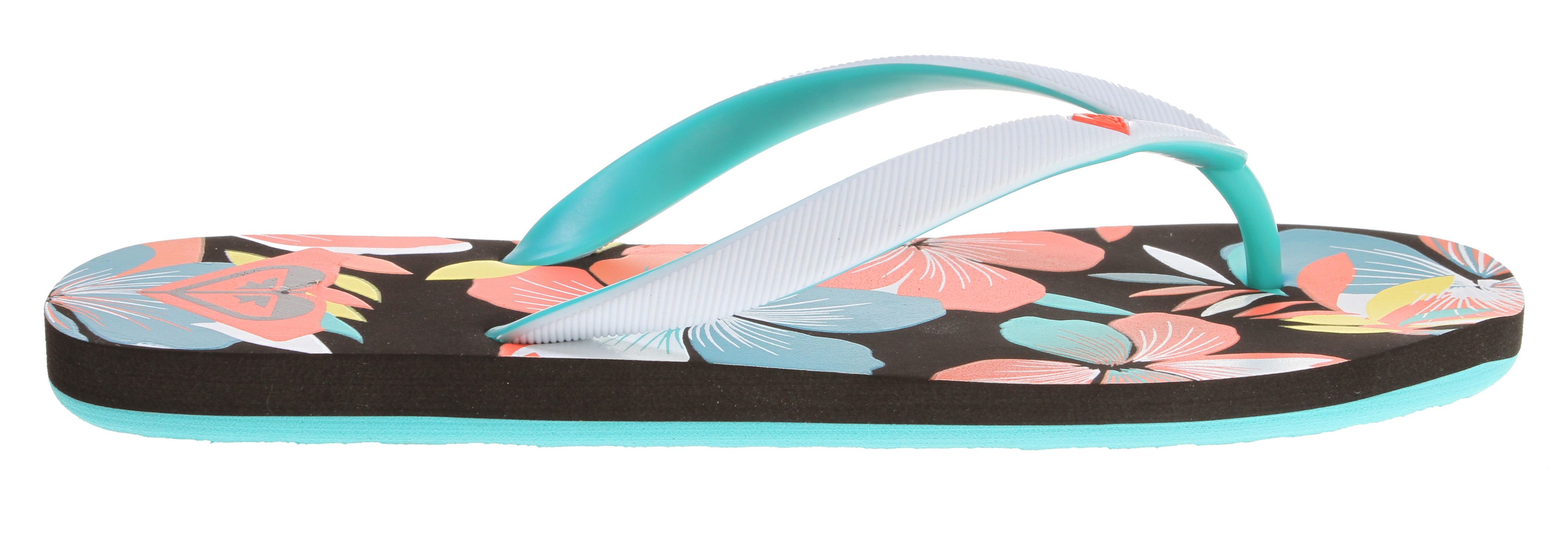 Surf Key Features of the Roxy Tahiti III Sandals: Soft EVA and two tone upper with molded heart logo Dual density EVA insole with graphic EVA outsole - $9.95