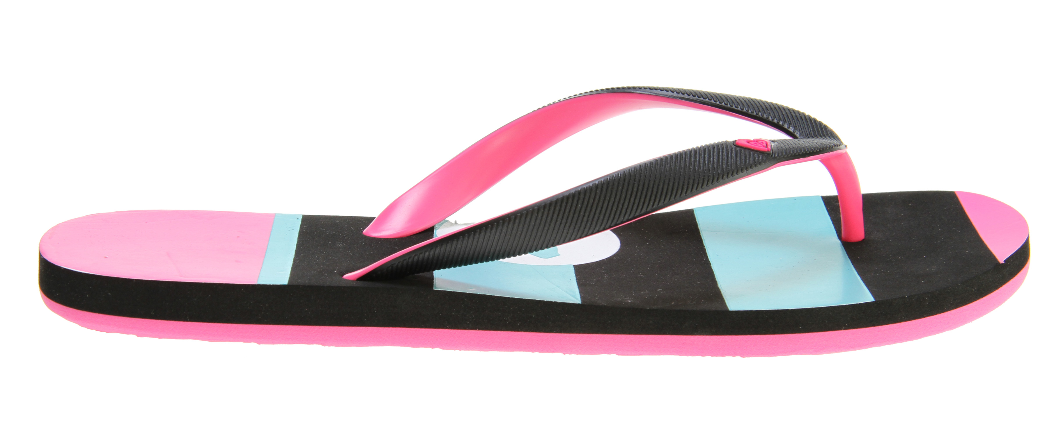 Surf Key Features of the Roxy Tahiti III Sandals: Soft EVA and two tone upper with molded heart logo Dual density EVA insole with graphic EVA outsole - $10.95