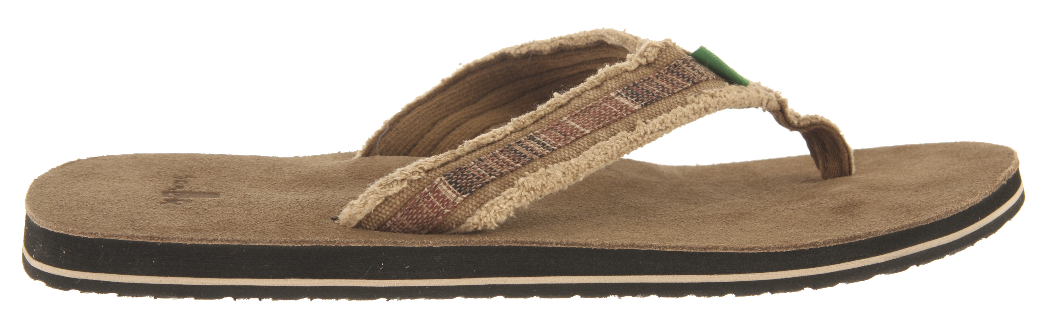 Surf Is super insanely comfy our middle name? Fraid so.Key Features of the Sanuk Fraid So Sandals: Super Soft, High Rebound EVA Footbed with Premium Suede Sockliner Happy U Outsole Frayed Canvas Strap Edge Detail for a Worn Look Strap Overlay Detail adds Additional Color to a Classic Look Super Comfy Terrycloth Liner - $26.95