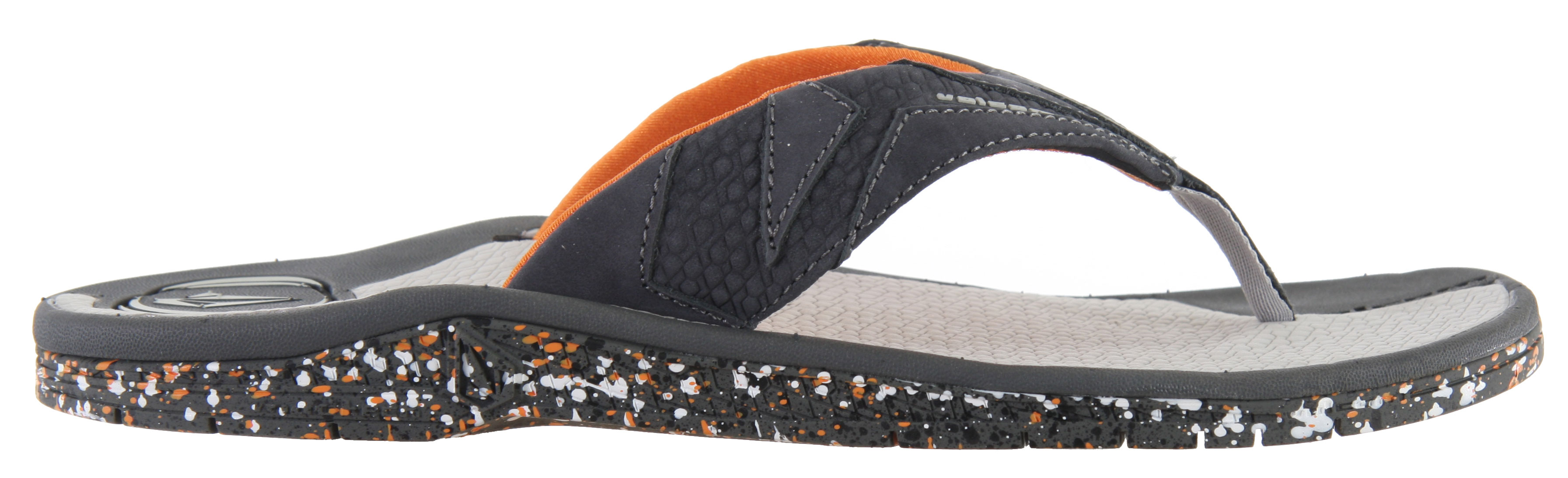 Surf Flat sandals are the perfect tool for ruining feet; they rub and chafe against the soles and ruin easily. The Volcom Annihilator Creedler Sandals are the perfect solution to any such problems,they include every aspect that someone could hope for in the ideal comfortable sandal. The gel inner lining of the sandal conforms comfortably to the exact shape of the sole of the foot to ensure that the sole of the foot is cradled in a comfortable and relaxing manner during every step you take.Key Features of the Volcom Annihilator Creedler Sandals: Soft Nubuck Leather Toe Strap/Post With Neoprene Lining Molded Foot Bed With Internal Gel Capsule Anatomic Contoured Foot Bed Articulating Molded Rubber Outsole - $28.95