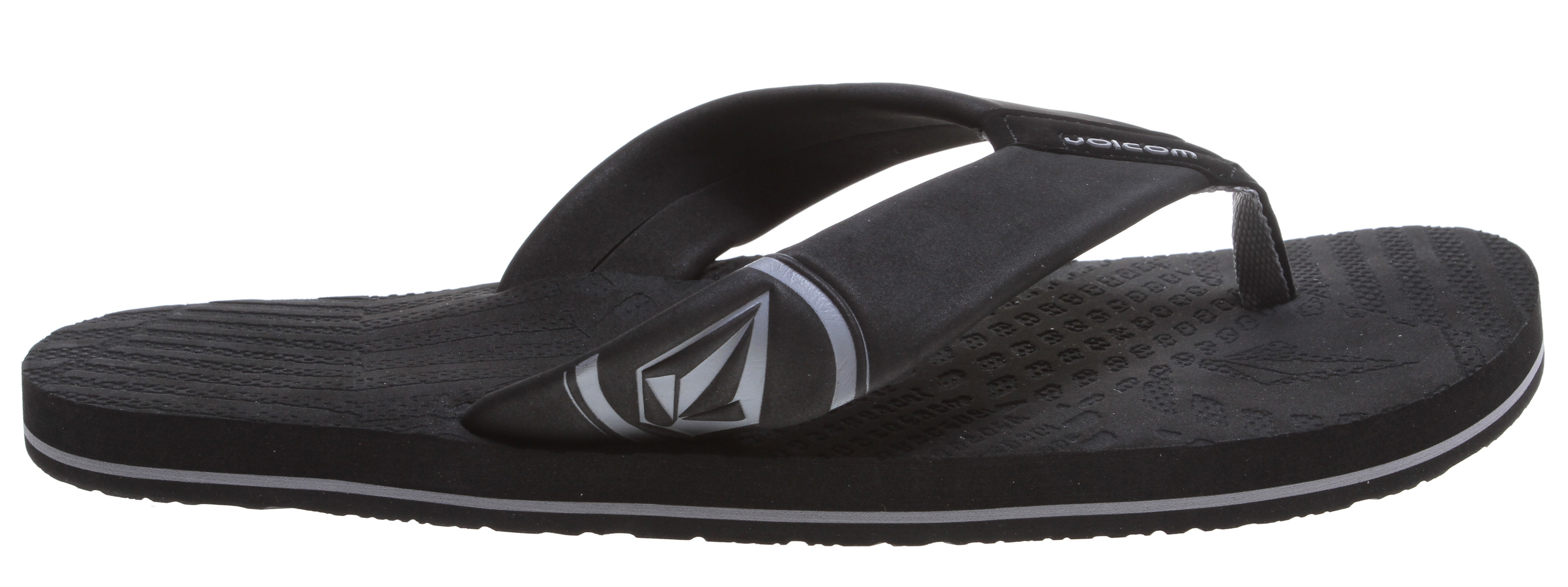 Surf Key Features of the Volcom Burner Sandals: EVA strap with deboss / enamel and rubber patch logo detail Laser etched top sole artwork Contour molded, dual density EVA insole with arch support High density EVA outsole - $23.00