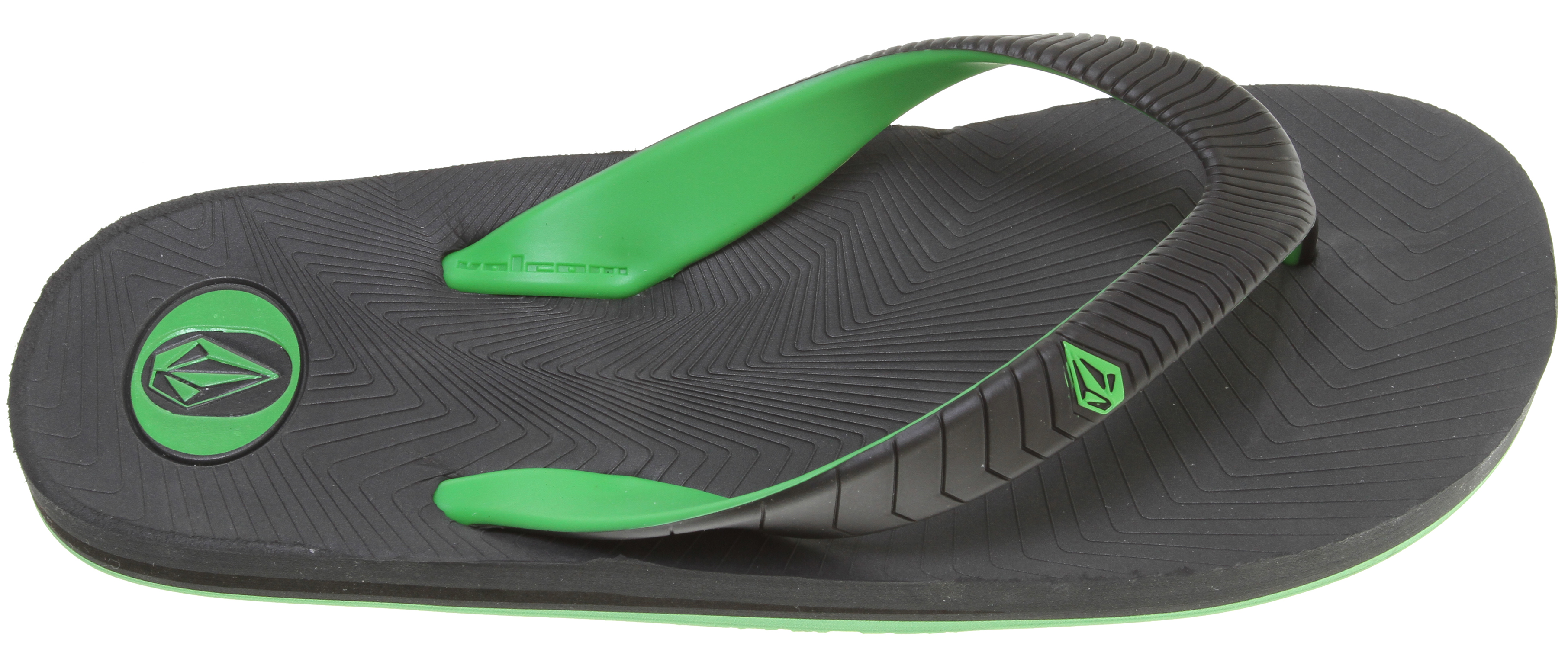Surf Key Features of the Volcom Concourse Creedlers Sandals: 2 color molded TPU toe strap Molded soft density EVA foot bed Bunch O Stones molded rubber outsole - $14.95