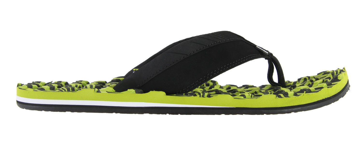 Surf Hit the beach with the Volcom Modtech Creedlers Sandals. Super comfortable and reliable, enjoy these sandals all summer long. With its flip flop T-strap design, it's perfectly casual for daytime wear. Enjoy the summer cruising around in these fabulous sandals. Be sure to be comfortable all season long with the Volcom Modtech Creedlers Sandals.Key Features of the Volcom Modtech Creedler Sandals: PU Toe Strap with Embossed Panel Detail and Neoprene Lining EVA Stomp Pad Textured Foot Bed with a Molded Leash Plug Toe Post Attachment Colored EVA Heel Wedge and Pin Lines Molded EVA Outsole - $25.95