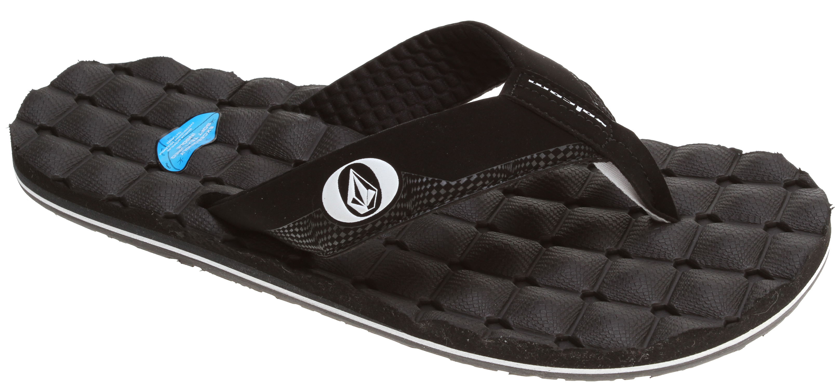 Surf Ahhhh. It's like Volcom transformed your favorite gaming chair into a cush and quilted sandal. Just be warned, the Recliner Creedler is so comfortable you may fall asleep on your feet.Key Features of the Volcom Recliner Creedlers Sandals: Designed with a super soft molded footbed Triple density EVA insole with arch support. Made from synthetic nubuck. - $21.95