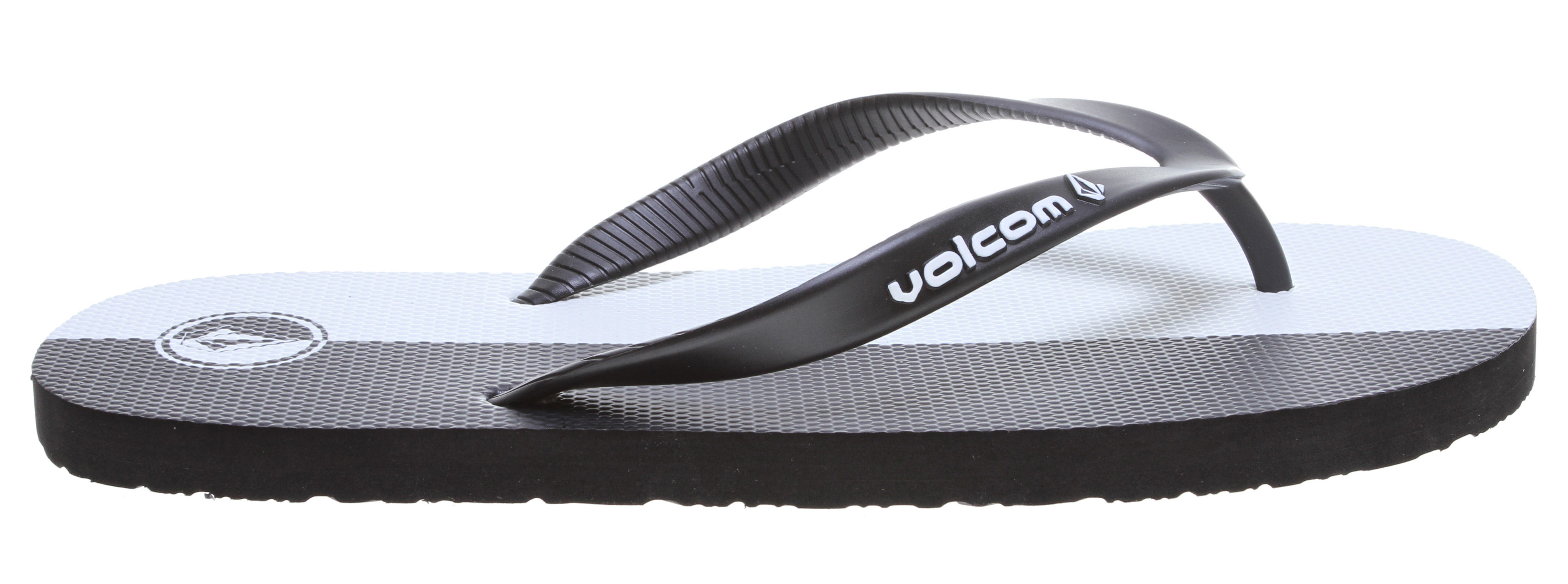 Surf Key Features of the Volcom Rocker Sandals: 3 anchor, molded TPU strap with enamel logo detail Textured, single density EVA top sole High density EVA outsole - $10.95