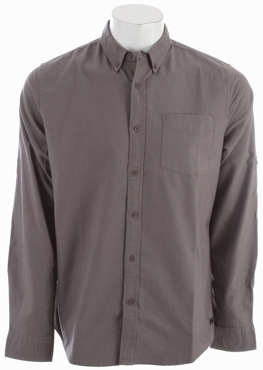 Key Features of the Analog Kenton Shirt: Slim fit button up shirt with roll up straps at sleeves 100% cotton mini oxford with softener wash - $38.95