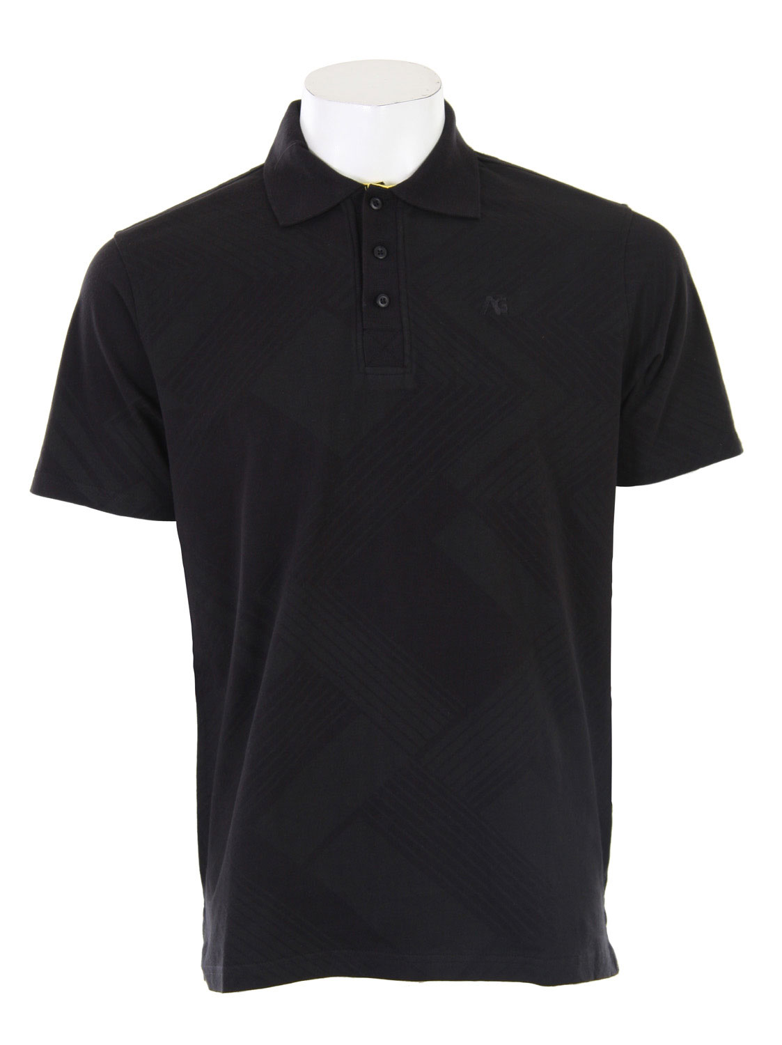 The Analog Nonchalant Polo Shirt. Flat knit collar and placket - Regular Fit - $20.95