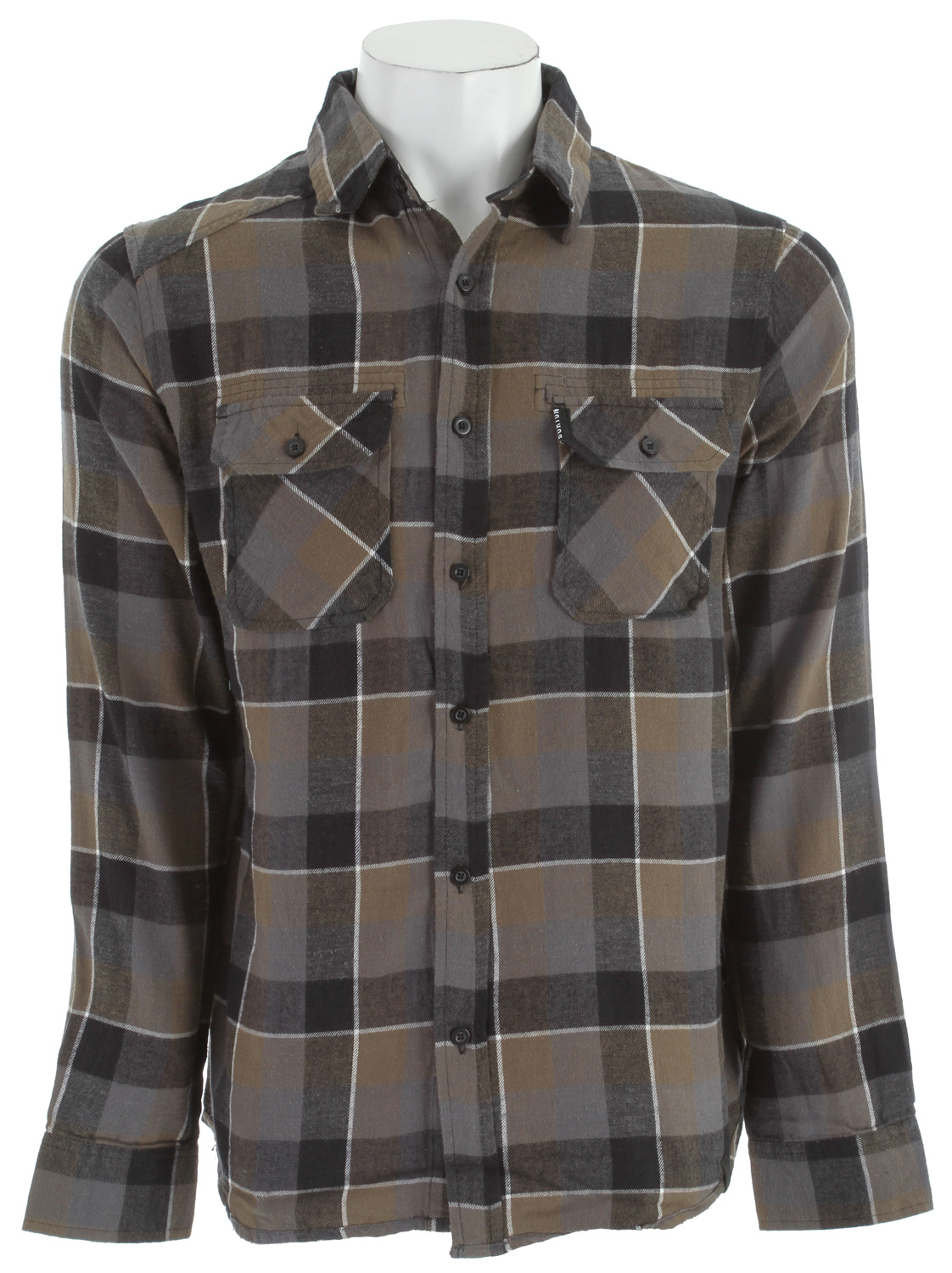Snowboard Burton is a world-wide leader in snowboards and the Burton Brighton L/S Flannel Shirt is 100% cotton, yarn dyed, and has two front easy access chest pockets. Known for their signature fit-slim and not too constrictive for on the slope performance. This shirt layers nicely with most Burton outerwear for an up to date look whether on the mountain or around town. Machine washable for easy care, the Brighton also has a 30 day manufacturer's warranty.Key Features of the Burton Brighton L/S Flannel Shirt:  100% Cotton  Woven Yarn-Dyed Flannel with Chest Pockets  Reverse French Seams   Sig Fit - $14.95
