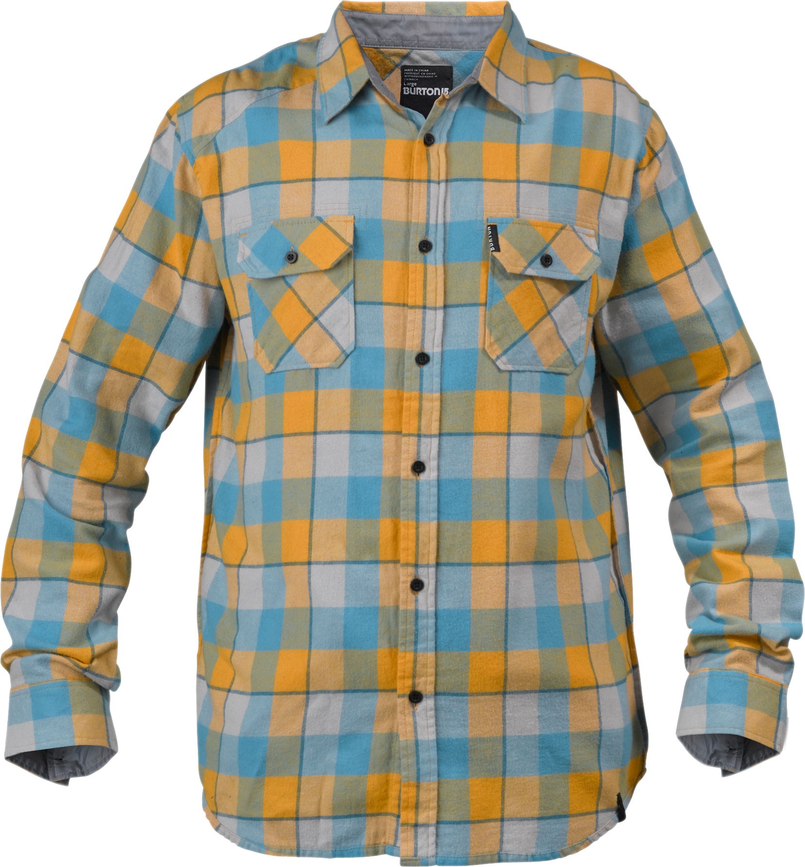 Snowboard Key Features of the Burton Brighton L/S Flannel Shirt: 100% Cotton Woven Yarn-Dyed Flannel with Chest Pockets Reverse French Seams Sig Fit - $24.95