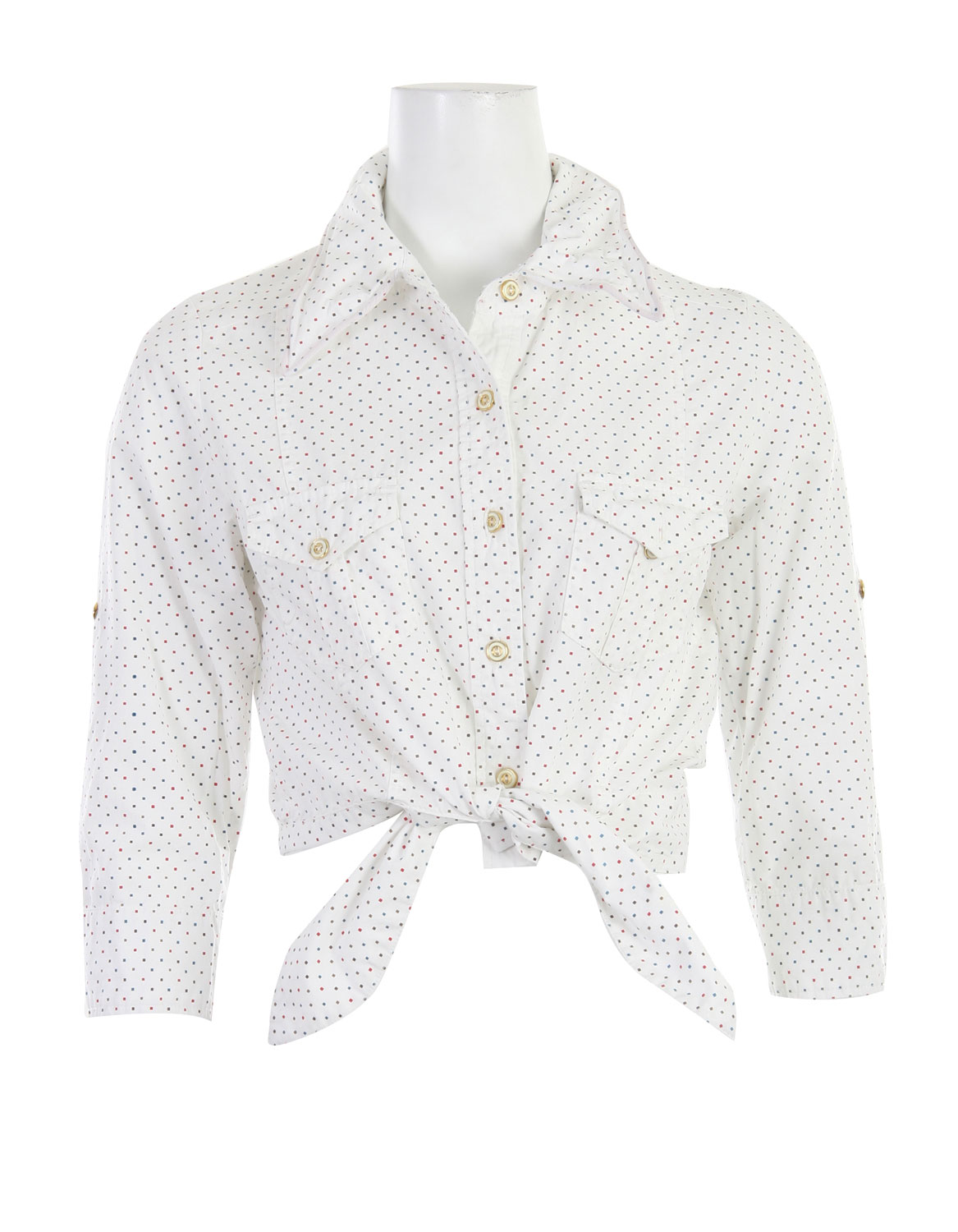 Snowboard Get ultra glam with this classic button down textured shirt. The Burton Pop Your Collar Shirt is a classic design, featuring a simple button down look, but spice is surely added with its polka dot design detail. Simple yet chic, you'll look good every time. Made with 100% cotton, this shirt is super soft to the touch, and ideal for all day wear. So, get one for yourself and rock it all year long. - $20.06