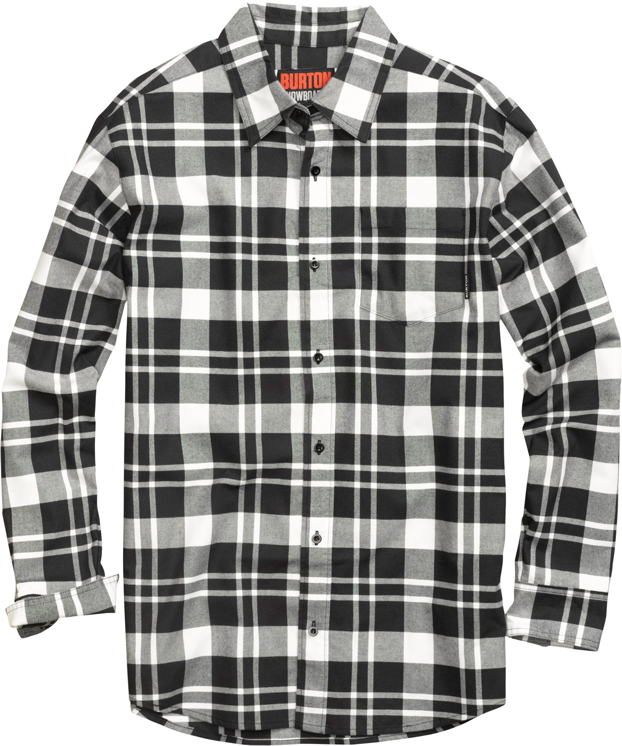 Snowboard Rustic appeal meets modern feel. Quick-drying, stink-fighting flannel for on or off-hill style.Key Features of the Burton Repel Flannel: DRYRIDE Ultrawick Yarn-Dyed Polyester/Cotton Blend Fabric with Mist-Defy Quick-Drying and Highly Breathable Stink-Proof Antimicrobial Finish Chest Pocket Button-Up Closure - $50.95