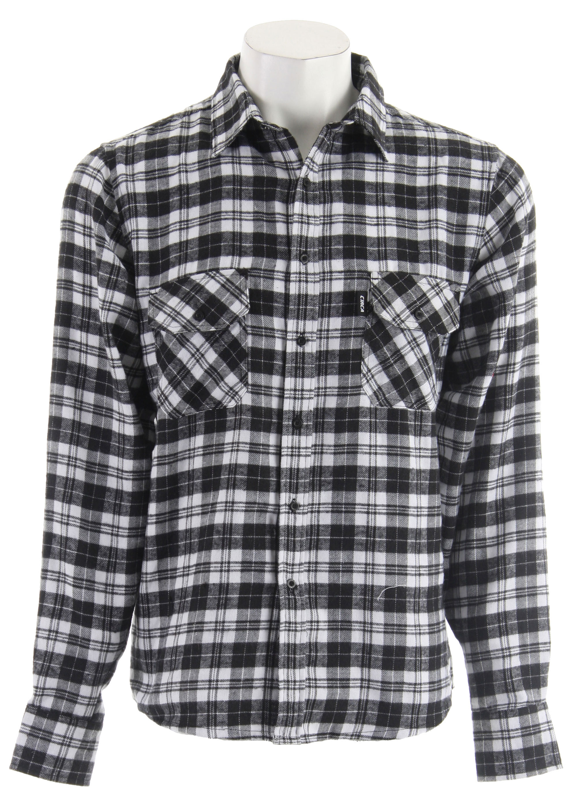 Key Features of the Circa Avenger Flannel Shirt: 100% Cotton Standard Fit Brushed plaid fabric Chest pockets with button flaps Woven label branding - $22.95