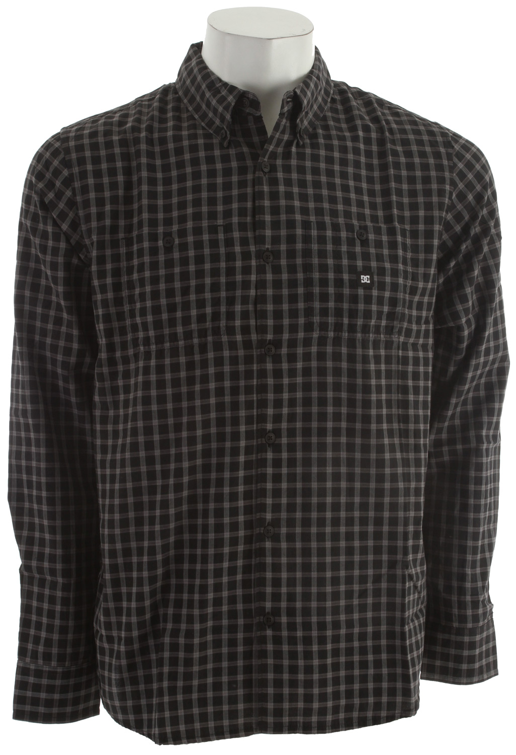 "Skateboard The Baldwin Long sleeve shirt really takes plaid in a new direction. West. If you thought we were gonna say ""forward"" we like the way you think. Regardless though, west is the most popular direction at the DC offices, so we're sticking with west. - $28.76"