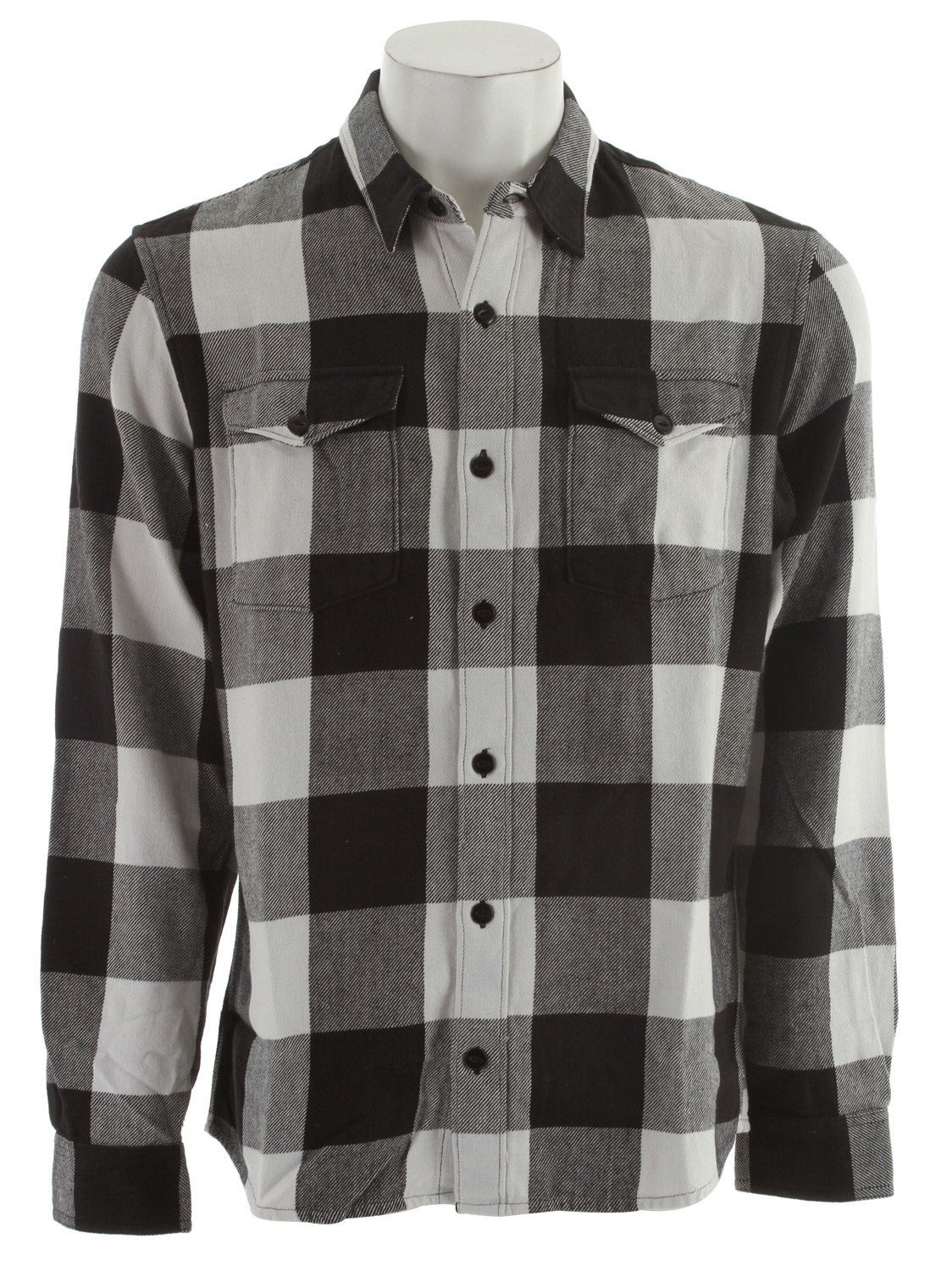 Skateboard Key Features of the DC Soldier L/S Shirt: Button down collared shirt Flannel - $24.95