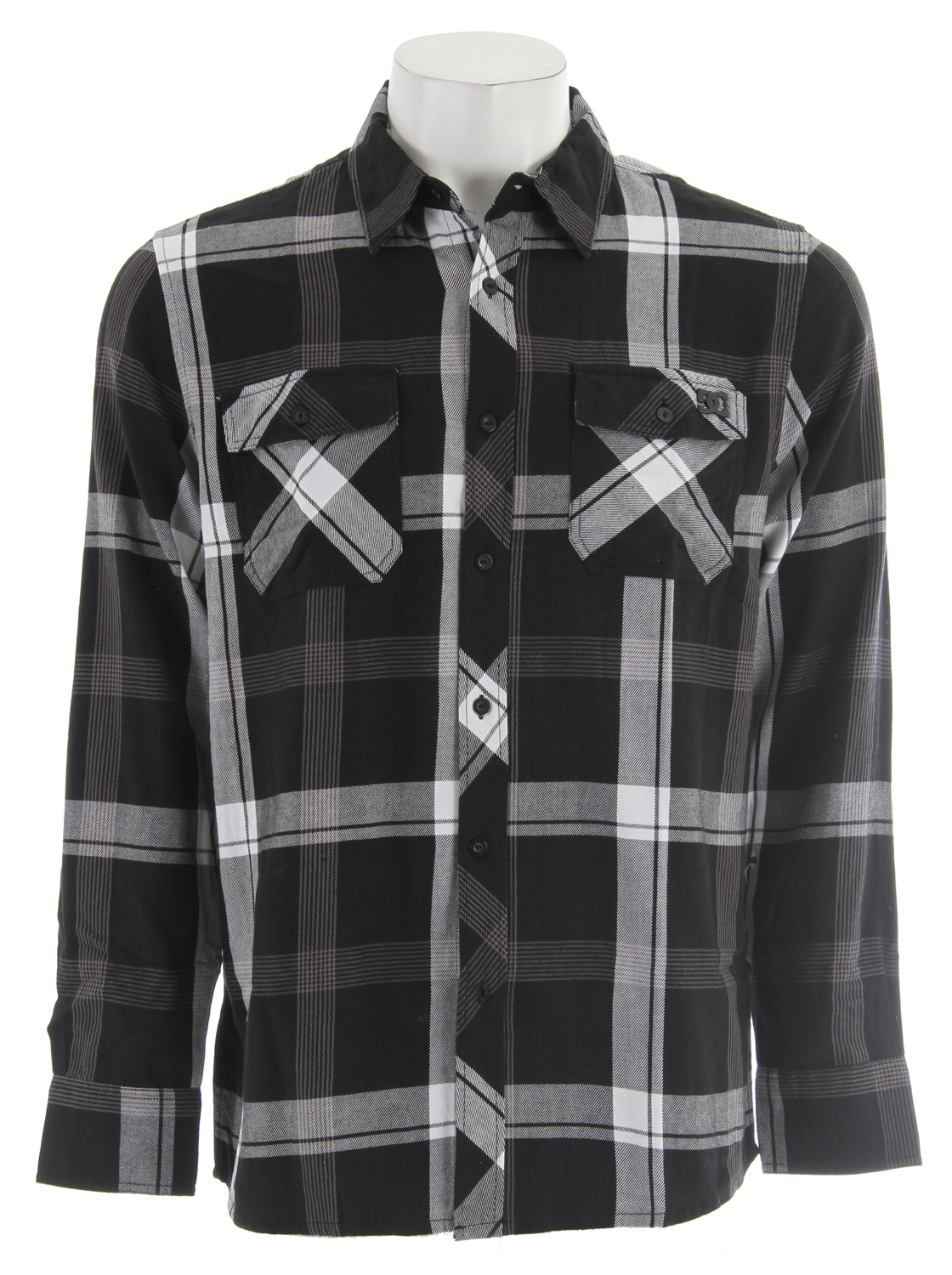 Skateboard Key Features of the DC Sundance L/S Shirt: 100% unbrushed flannel Long sleeve shirt DC metal logo tack at left chest - $29.95