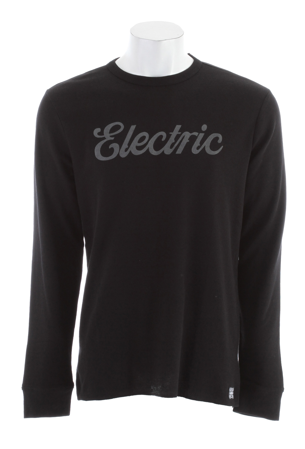 Key Features of the Electric Cursive Thermal:  Men's Thermal  Basic Fit  Chest Script Logo Print  60% Cotton  40% Polyester - $24.95