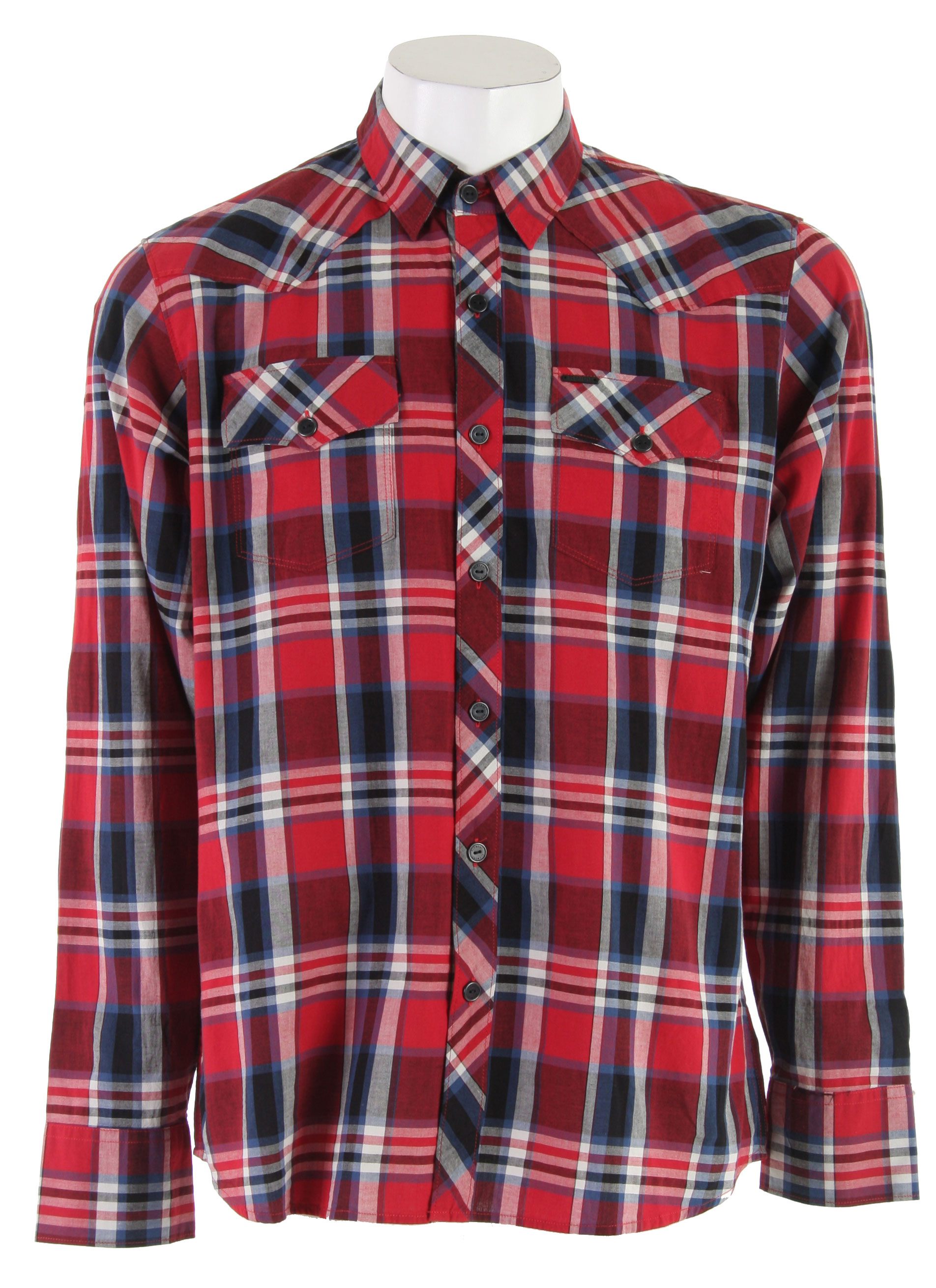 Skateboard let face It,. plaid has always been cool, and there is nothing cooler than red plaid. Now get outside and cut some fire wood, because it is going to be a cold cold winter. Key Features of the Element Weyburn L/S Shirt Red:  Cotton   Regular Fit  regular   button up   2 chest pockets   3 button cuff - $39.95