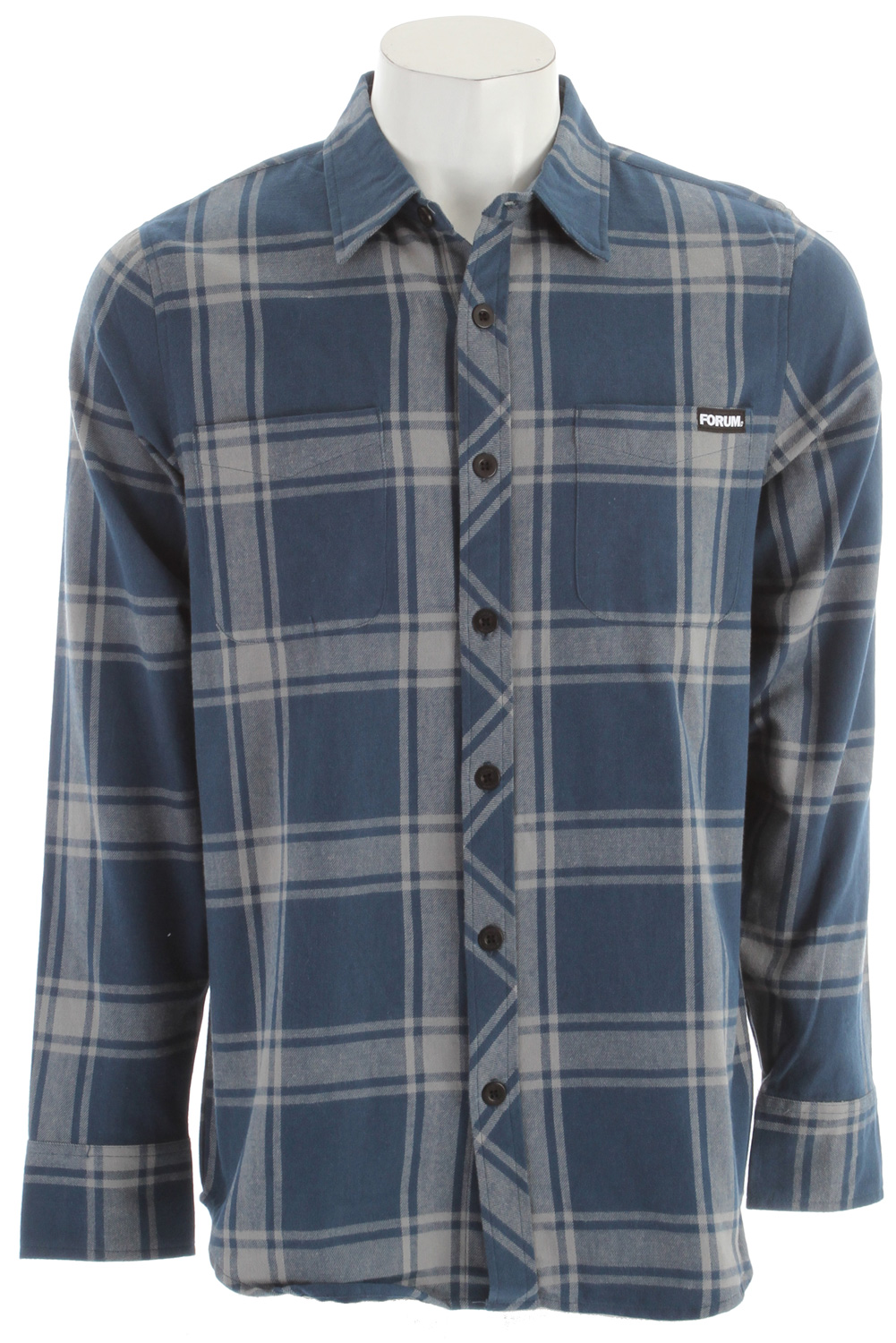 Forum Yokel Flannel Brigade Blue - $16.95