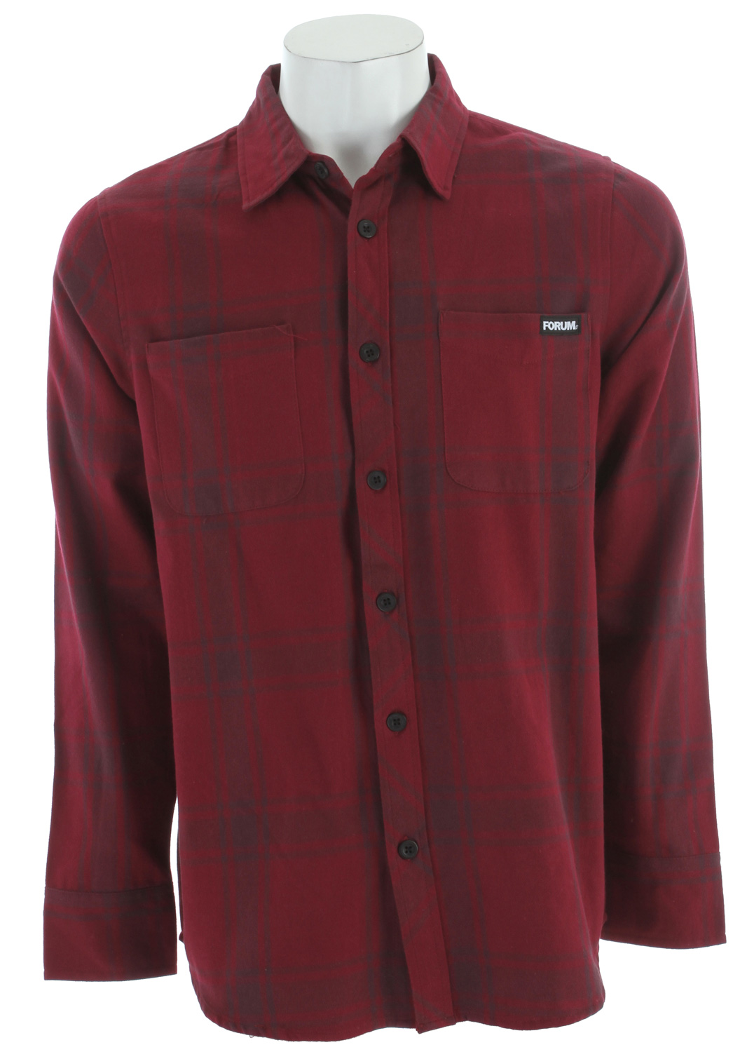 Forum Yokel Flannel Ron Burgundy - $18.95