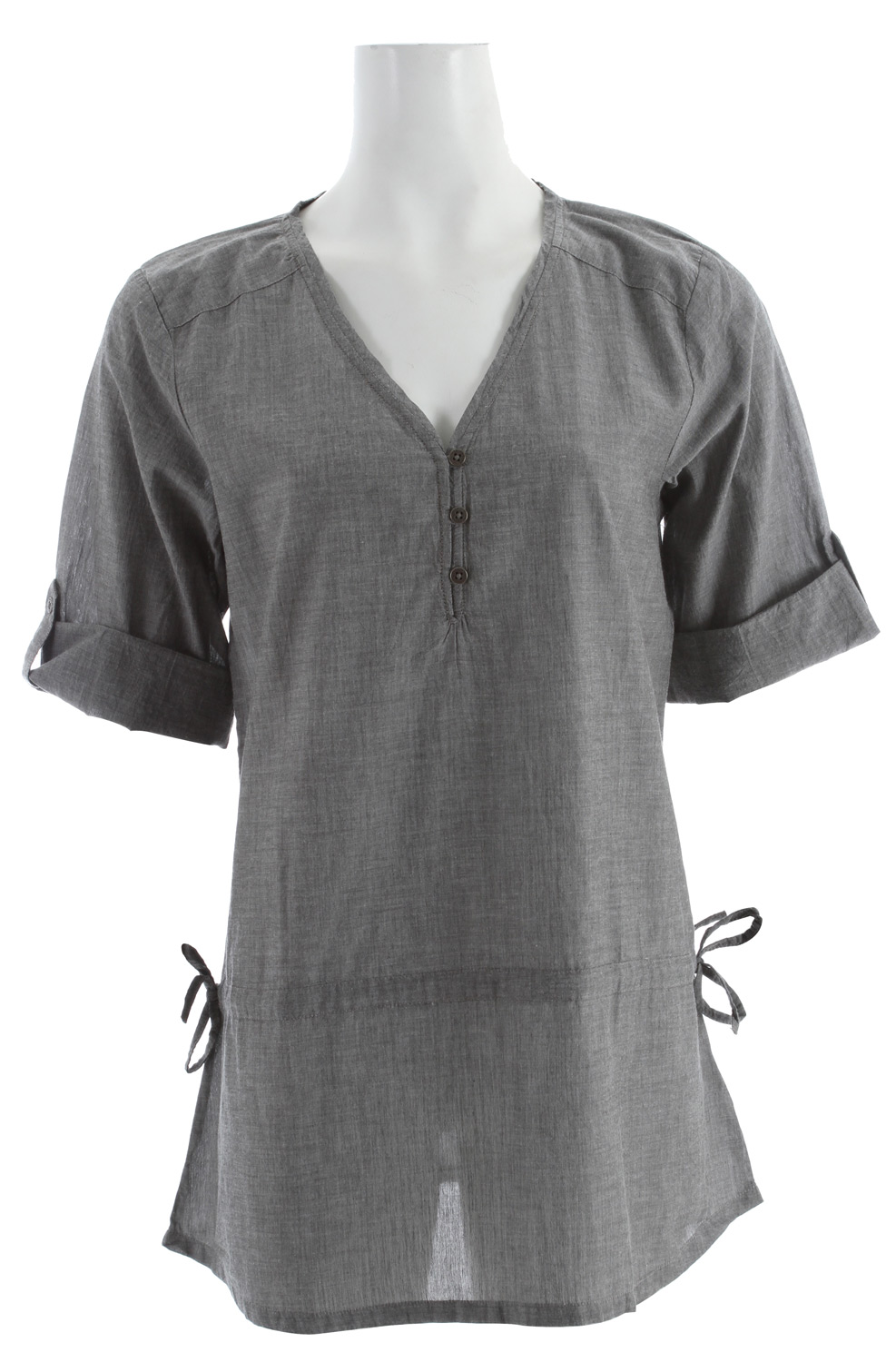 Toad & Co Rosie Overshirt Charcoal - $40.95