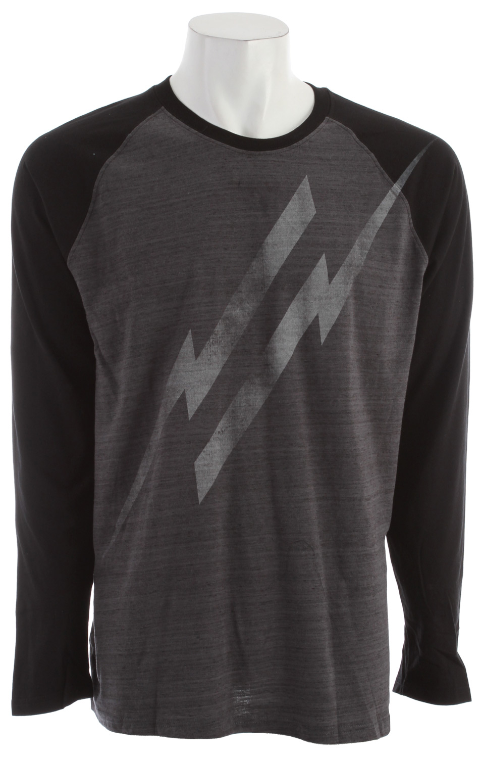 Surf Key Features of the Hurley Electrolite Raglan: Premium Fit Long Sleeve Raglan 30 Singles; 85% Cotton/15% Polyester Marbled Yarns Woven icon loop label, screen-printed inside neck, and soft hand-print. - $19.96