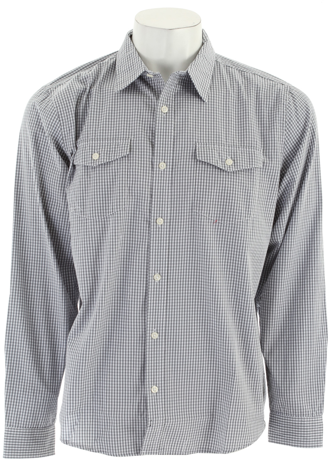 Surf Hurley Solution L/S Shirt Grey - $25.95