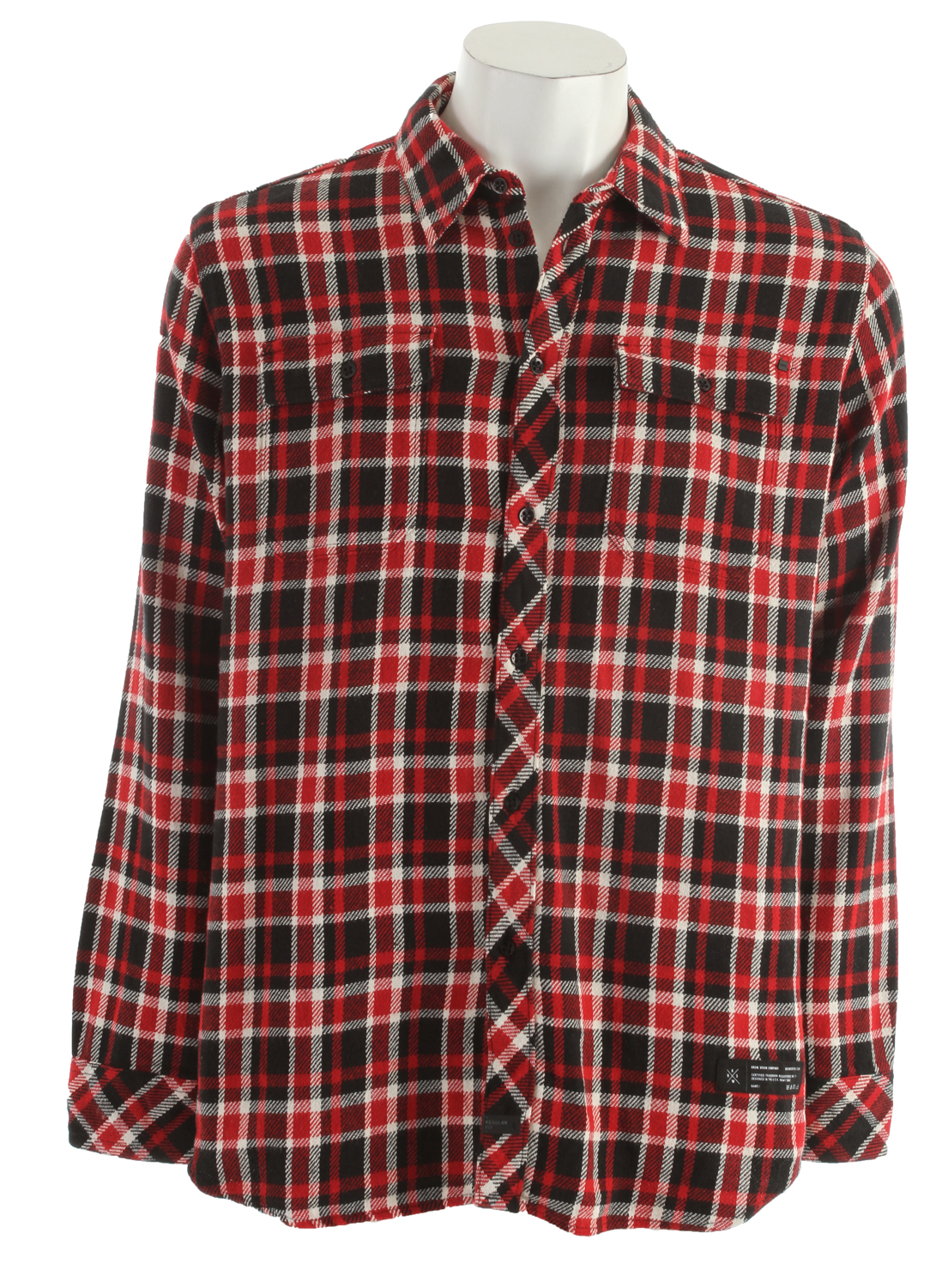Your friends' reaction to this KR3W Automatic Plaid Shirt will be automatically positive. The attractive 100% cotton shirt features a Button Up design and Regular Fit. Plaid & flannel is definitely in this season, and this shirt has a classic look that goes well with jeans or khakis. With 2 Chest Pockets to store your essentials, this KR3W Automatic Plaid Shirt is perfect for daily wear.Key Features of the KR3W Automatic Plaid Shirt: 100% cotton yd Regular fit - $29.95