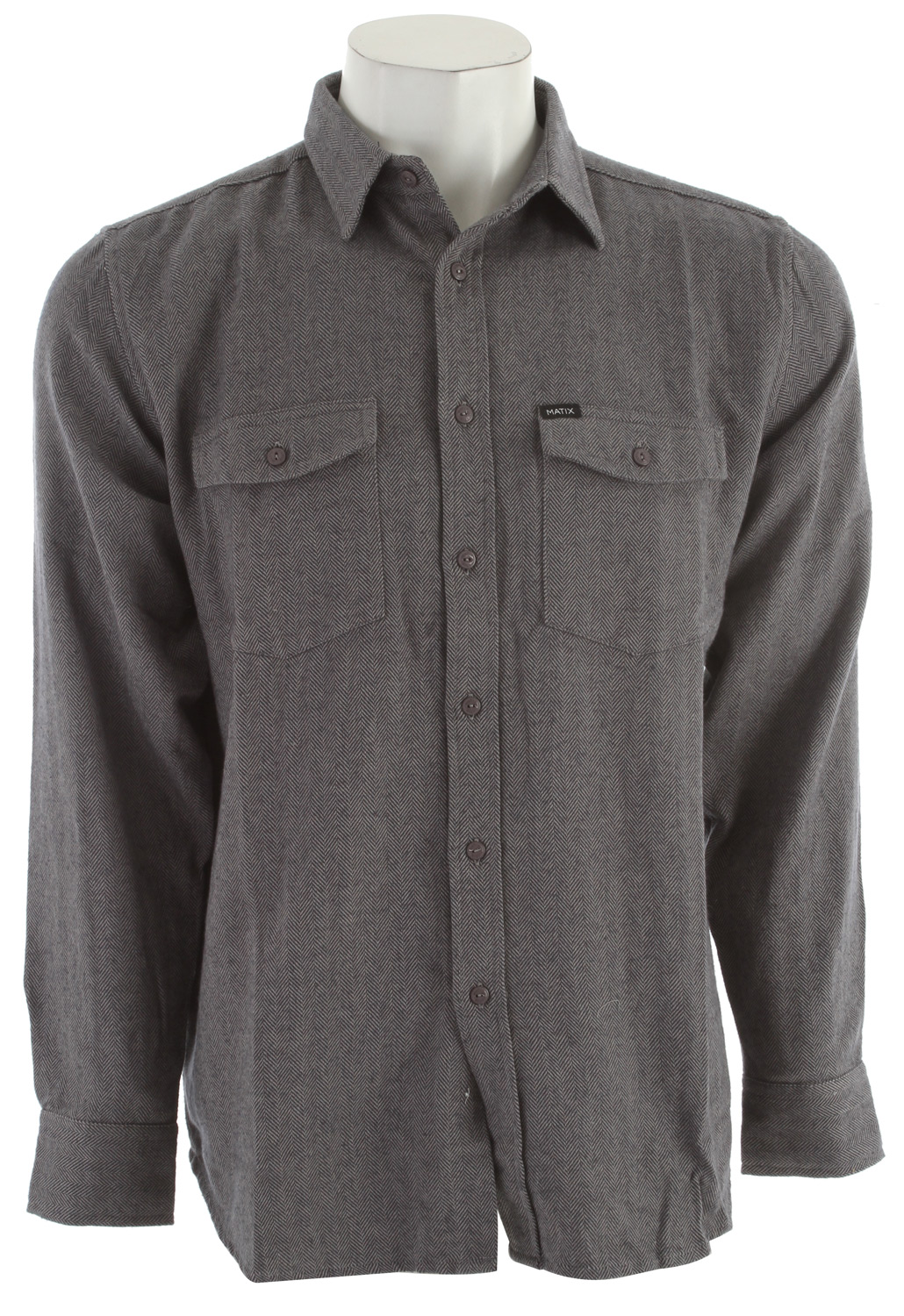 Key Features of the Matix Money Barrel Shirt: 100% cotton Solid style with a herringbone weave construction Chest pockets Slim fit Matix/Torey Pudwill signature labeling - $37.95