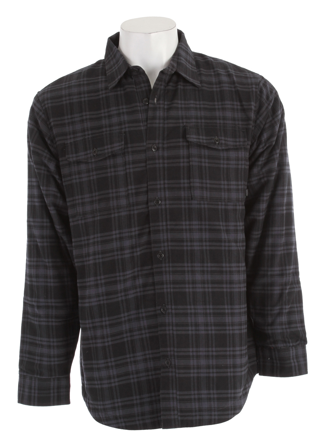 Entertainment The Nike Road Dog Flannel Men's Shirt embodies working-man style: a rugged blend of insulation and classic plaid to help keep you warm on your next adventure. Key Features of the Nike Road Dog Insulated Flannel Shirt: Foldover collar and windowpane plaid for classic styling 60g of lightweight insulation to help keep you warm Button-closed security pockets to hold your gear tight Long sleeves with button cuffs for warmth and an adjustable fit Fabric: 100% cotton Machine wash - $41.95