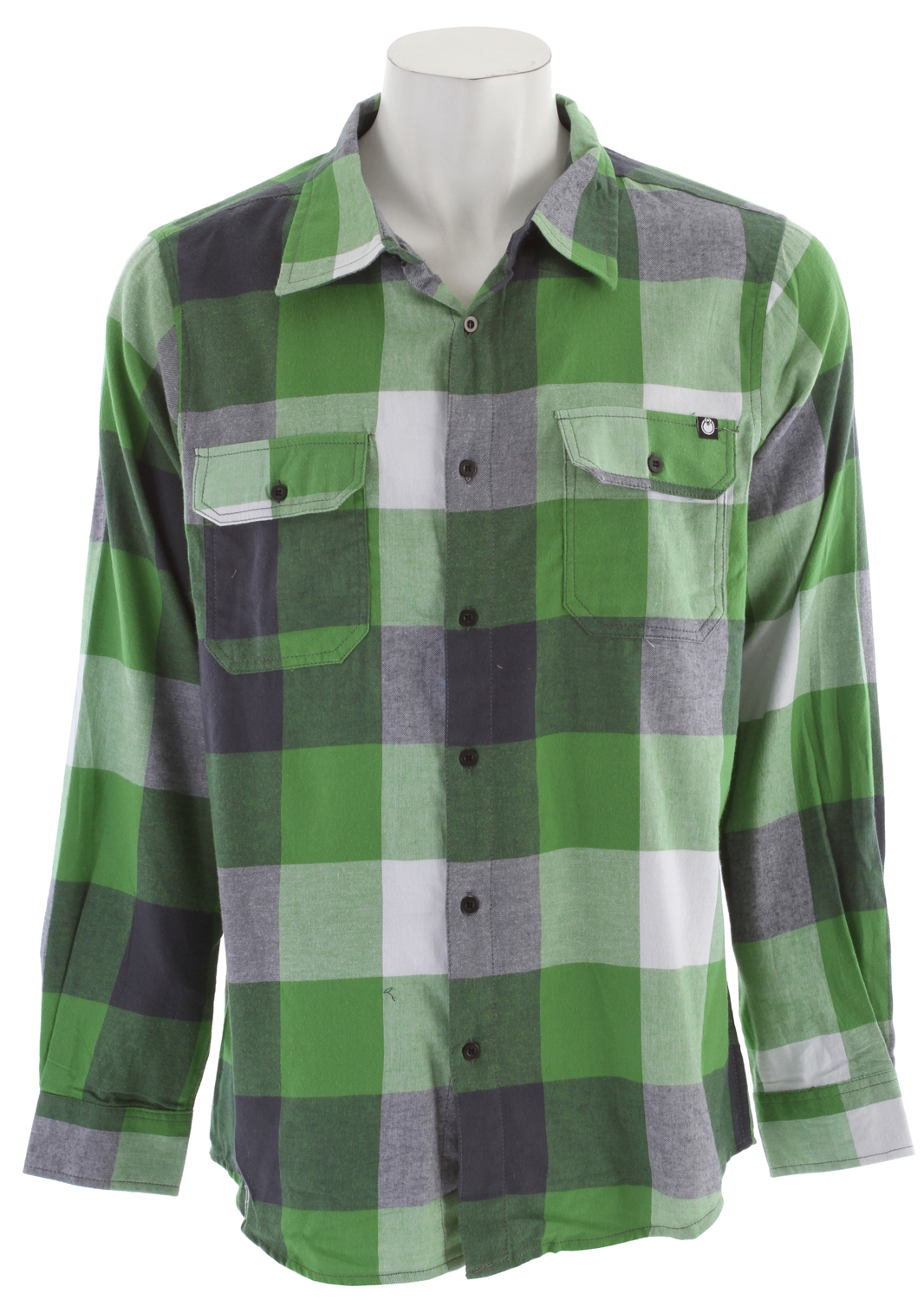 Key Features of the Nomis Box Plaid L/S Shirt: 100% Cotton Tall sizing - $54.95