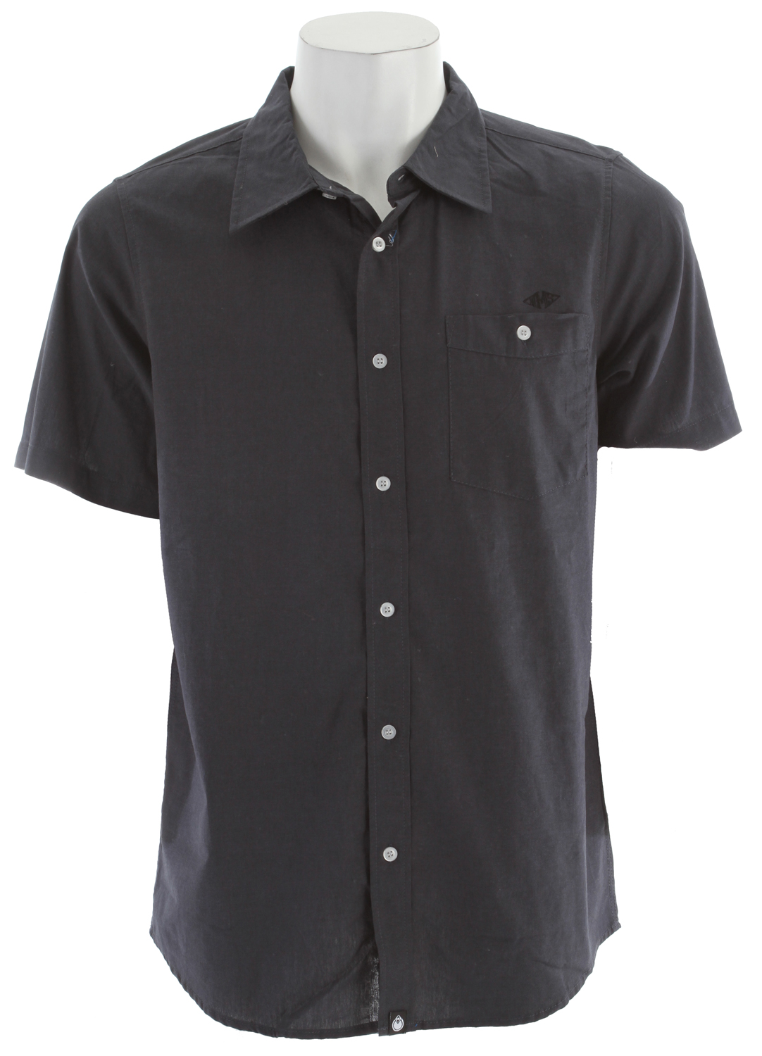 Nomis Oxford Shirt Black - $24.95