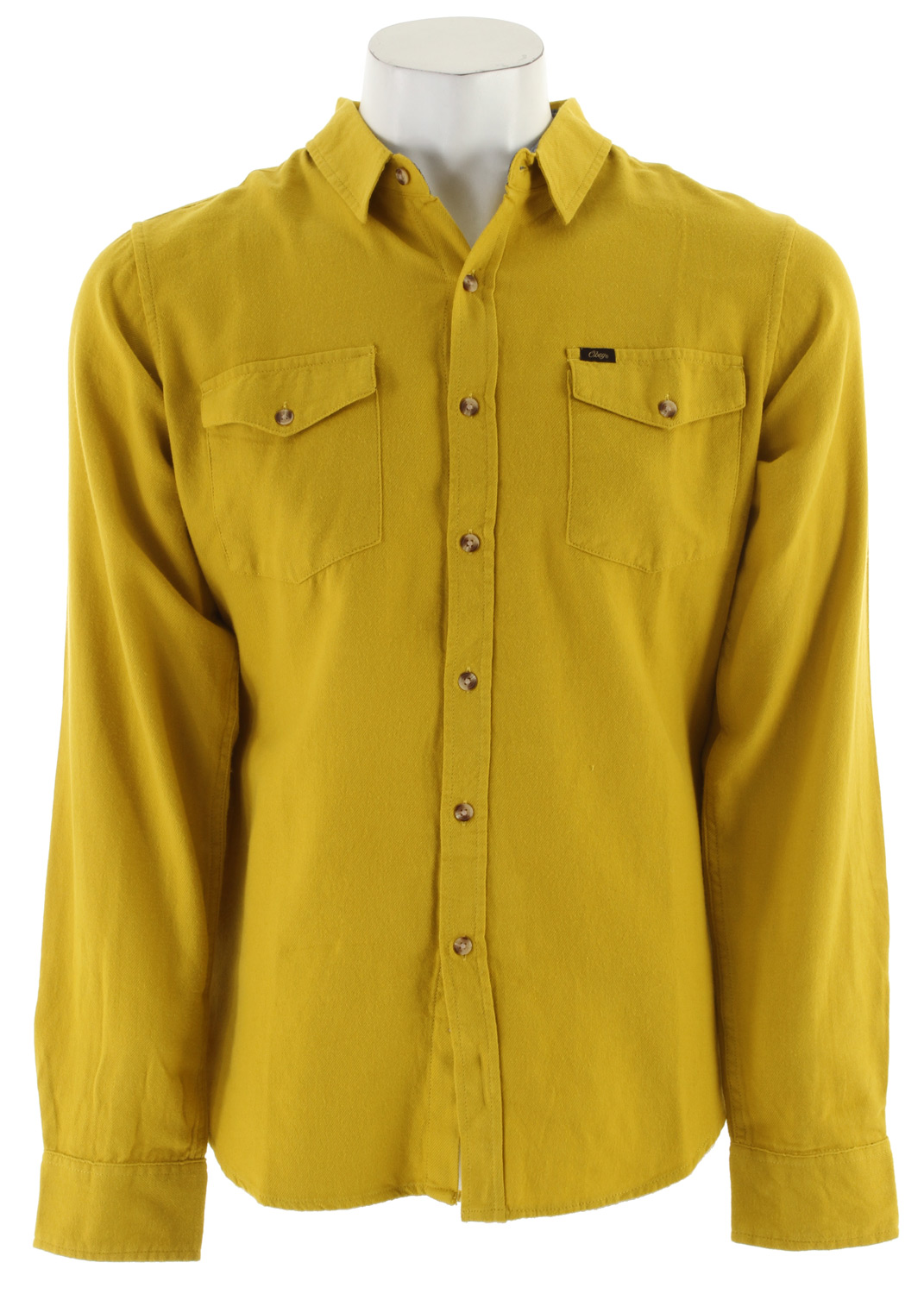 This Obey Arrington Shirt is a very popular item due to its modern look and high quality.  This is a slim fit long sleeve woven shirt. The Obey Arrington Shirt comes with the added convenience of two flap chest pockets. The material is made with 100% cotton making this shirt both breathable and comfortable.  This shirt is a button down so you can have the ability to layer it with other articles of clothing. The Arrington Shirt is a great investment for any wardrobe due to the functionality and comfort!Key Features of the Obey Arrington Shirt:  Slim fit long sleeve woven  Contrast chambray at interior collar stand and double check pockets  100% cotton - $37.95