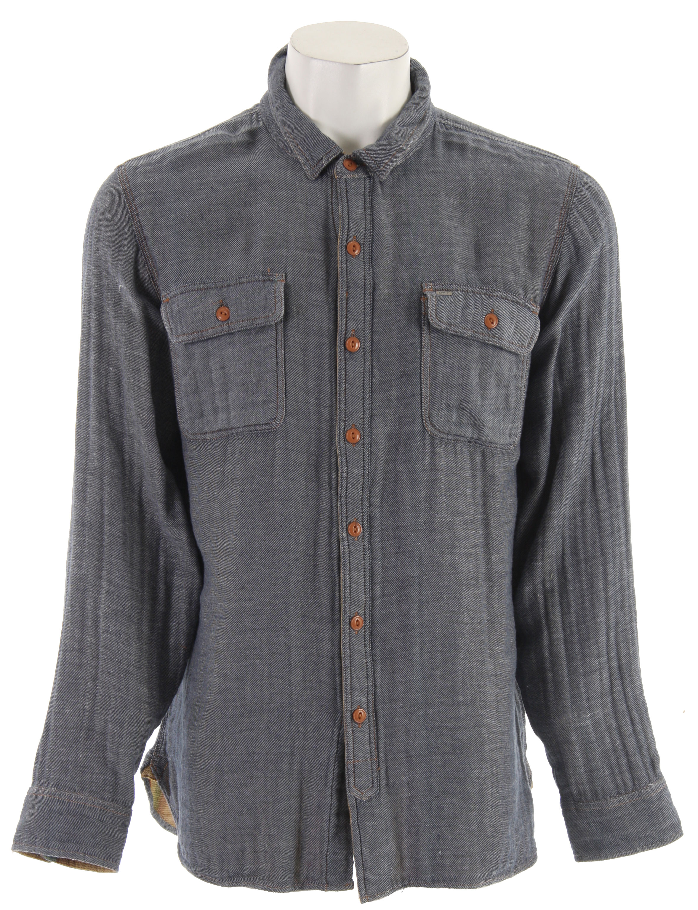 The Obey Toluca shirt is the perfect piece for cool spring night around a bon-fire.Key Features of the Obey Toluca Shirt Indigo:100% Cotton - $43.95