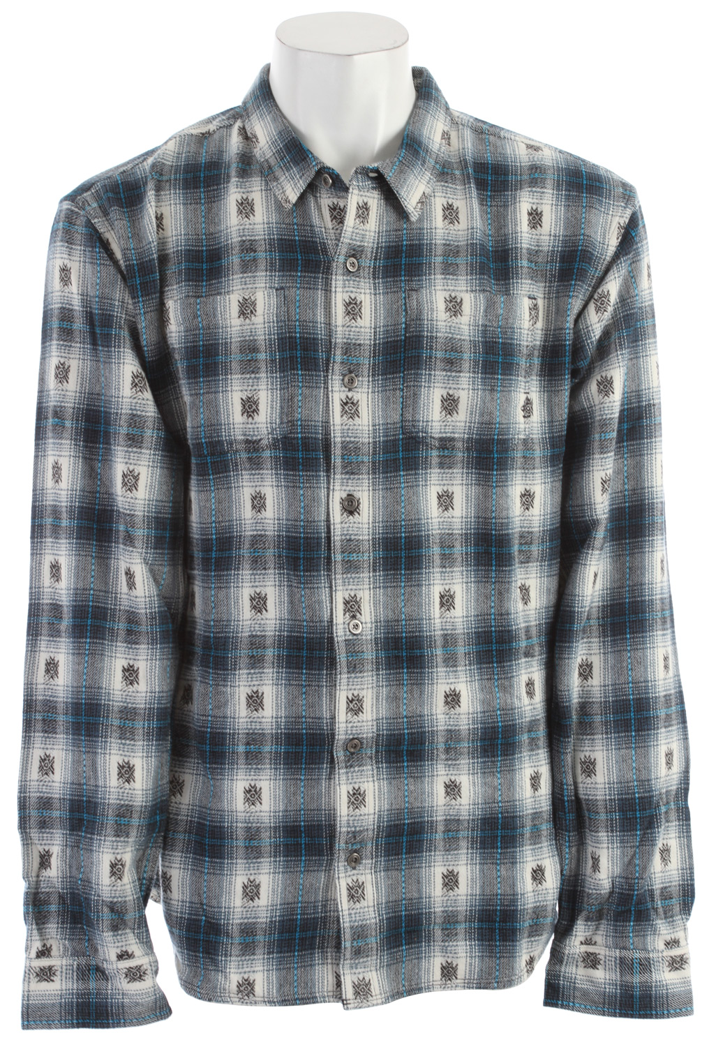 Entertainment Key Features of the Prana Hickory Flannel: 100% Cotton 6.8oz Yarn dyed flannel with geometric motif Front patch pocket Relaxed fit - $44.95