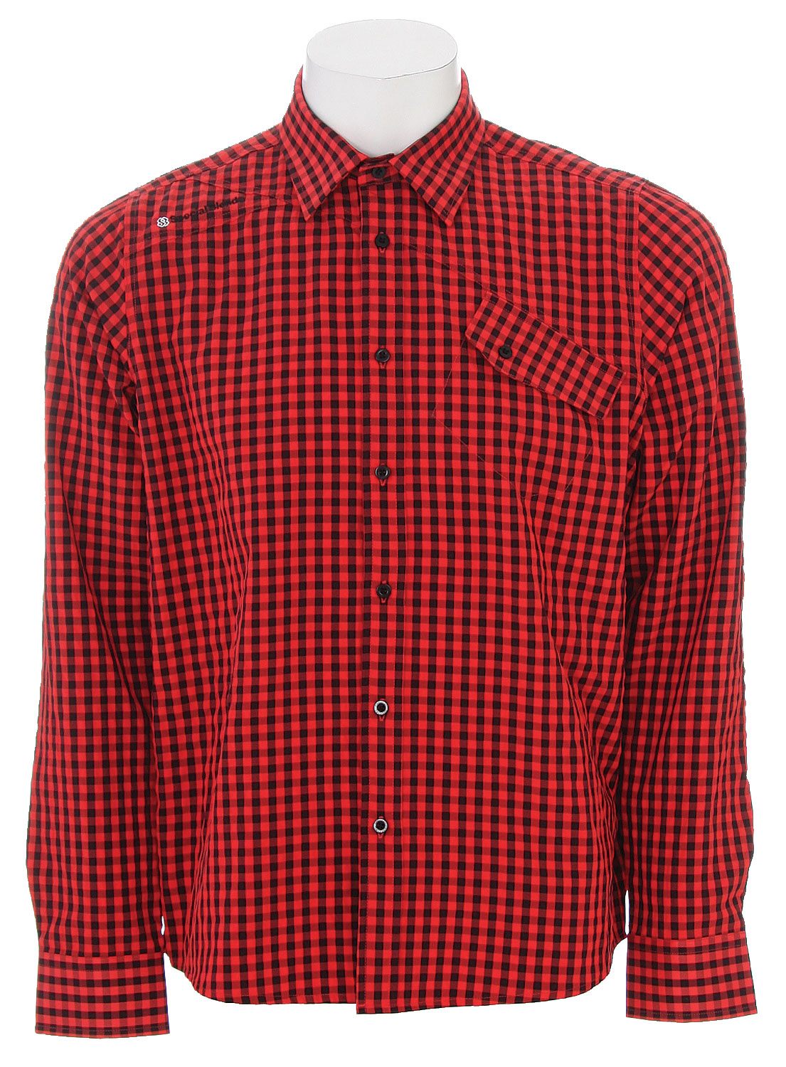 Entertainment The Special Blend Dress Up Shirt - Small Gingham / Wicking Properties / 62% Polyester, 38% Nylon - $20.95