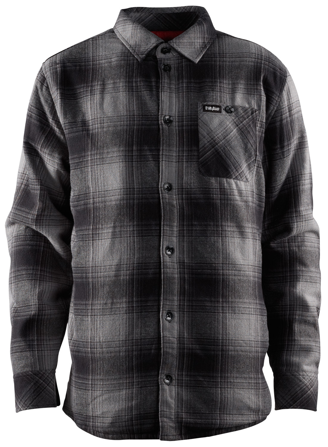 Key Features of the 32 - Thirty Two Grizzley Flannel: Yarn dyed flannel Quilted insulation - $61.95