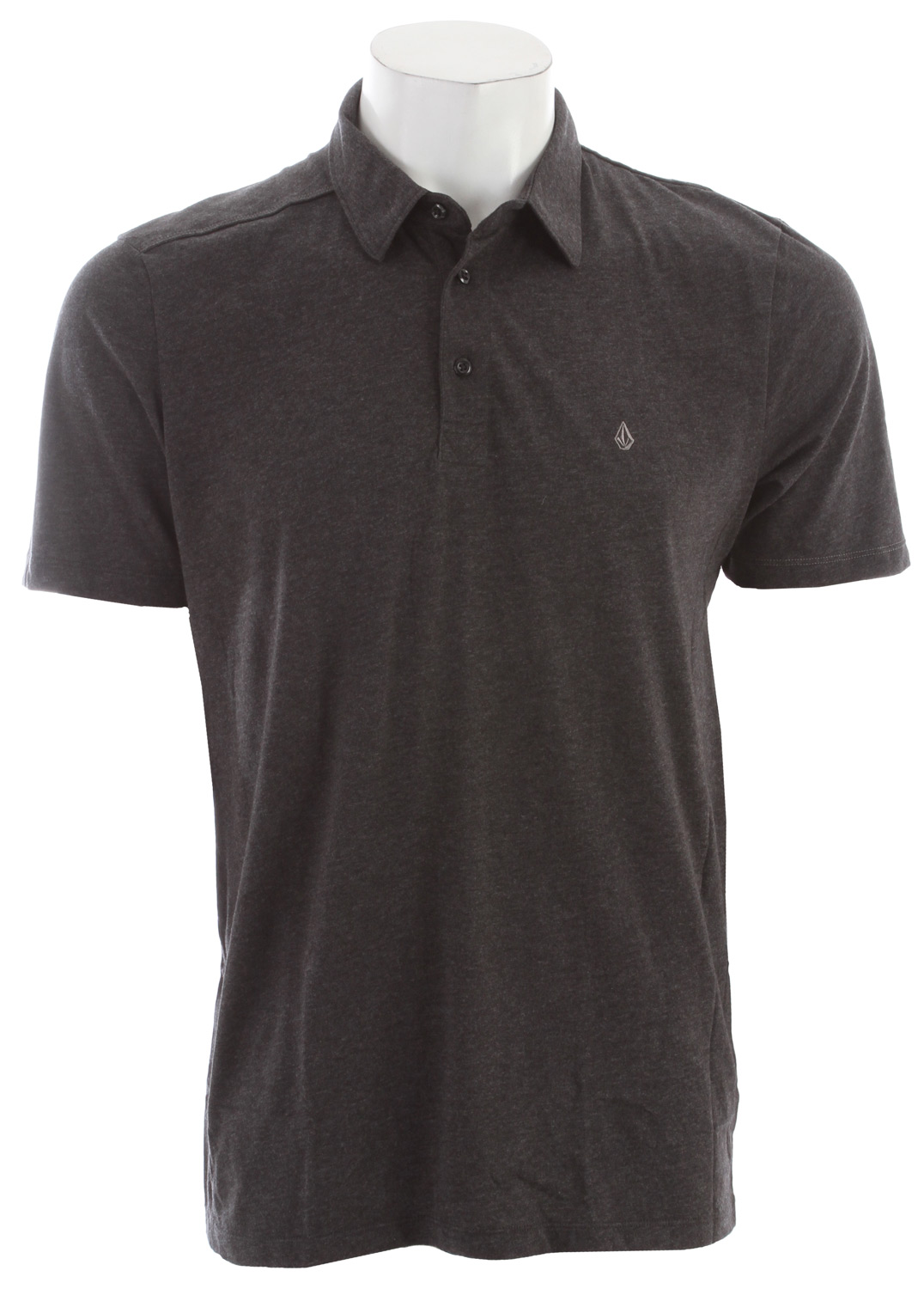 Surf Key Features of the Volcom Blackout Polo: Slim fit polo Contrast piping detail Contrast inside back yoke Side seam flag label, Stone embroidery 60% Cotton / 40% Polyester Jersey, 30/1, 150gsm - $24.95