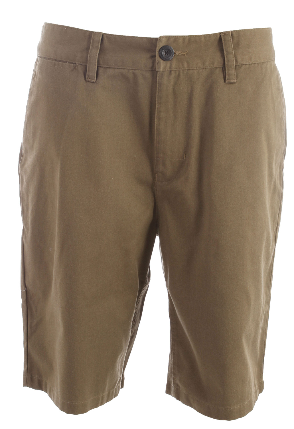 Key Features of the Analog Ag Chino 21In Shorts: Chino short Interior waistband detail and work wear labeling 55% Cotton / 45% Polyester with Wheel wash - $48.00