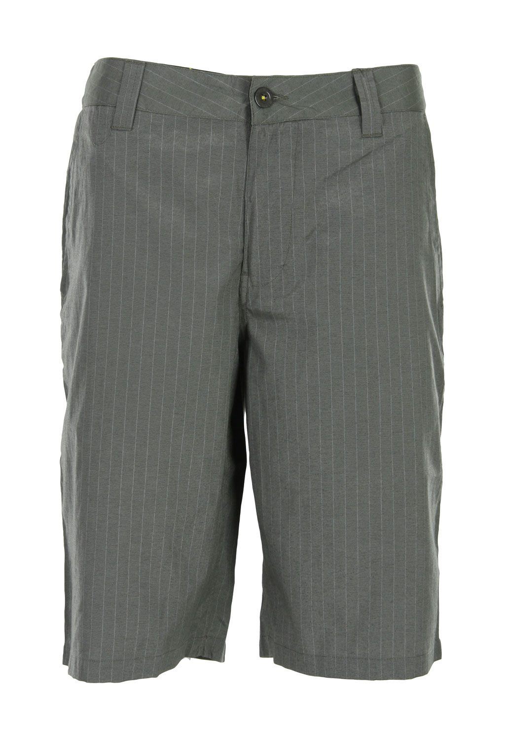 "Quite stylish and perfect for a walk around the block or a walk into town, a pair of Analog Moreno Walking Shorts belongs in the wardrobe of any fashion-savvy male with a taste for the good-life. Tops in quality and comfort, the Analog Moreno Walking Short features a Chino fit, classic cotton/polyester construction, and a printed inner waistband, making these the ideal partner to a variety of sporting shirts and tops. With so many attractive features, it's no wonder they sell out fast.Key Features of the Analog Moreno Walking Shorts: Chino Fit 23"" Outseam 55% Cotton 45% Polyester Pin Stripe Yarn Dye Printed Inner Waistband And Pocket Bags - $14.95"