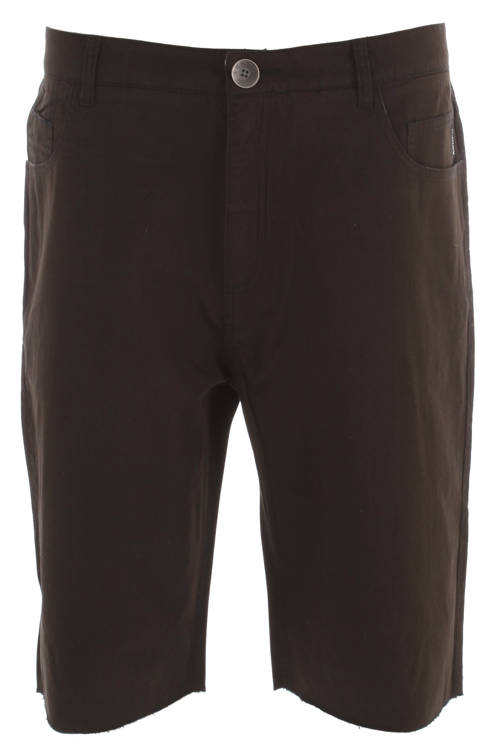 "Key Features of the Arbor Venice Shorts:  50/50 viscose from bamboo/cotton tapered walkshort  Contrast stitching  Raw bottom hem  23"" outseam - $49.95"