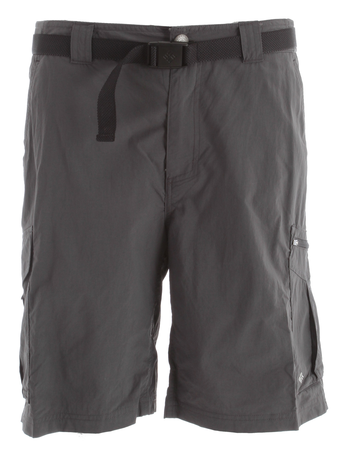 Key Features of the Columbia Silver Ridge Cargo Shorts: 100% nylon Silver Ridge ripstop, 57% recycled polyester/43% polyester mesh Omni-Shade™ UPF 50 sun protection Omni-Wick™ Classic fit Side-elastic waistband Gusset detail Hook and loop closure Zip-closed security pocket Hand pockets Mesh pocket bags - $27.95
