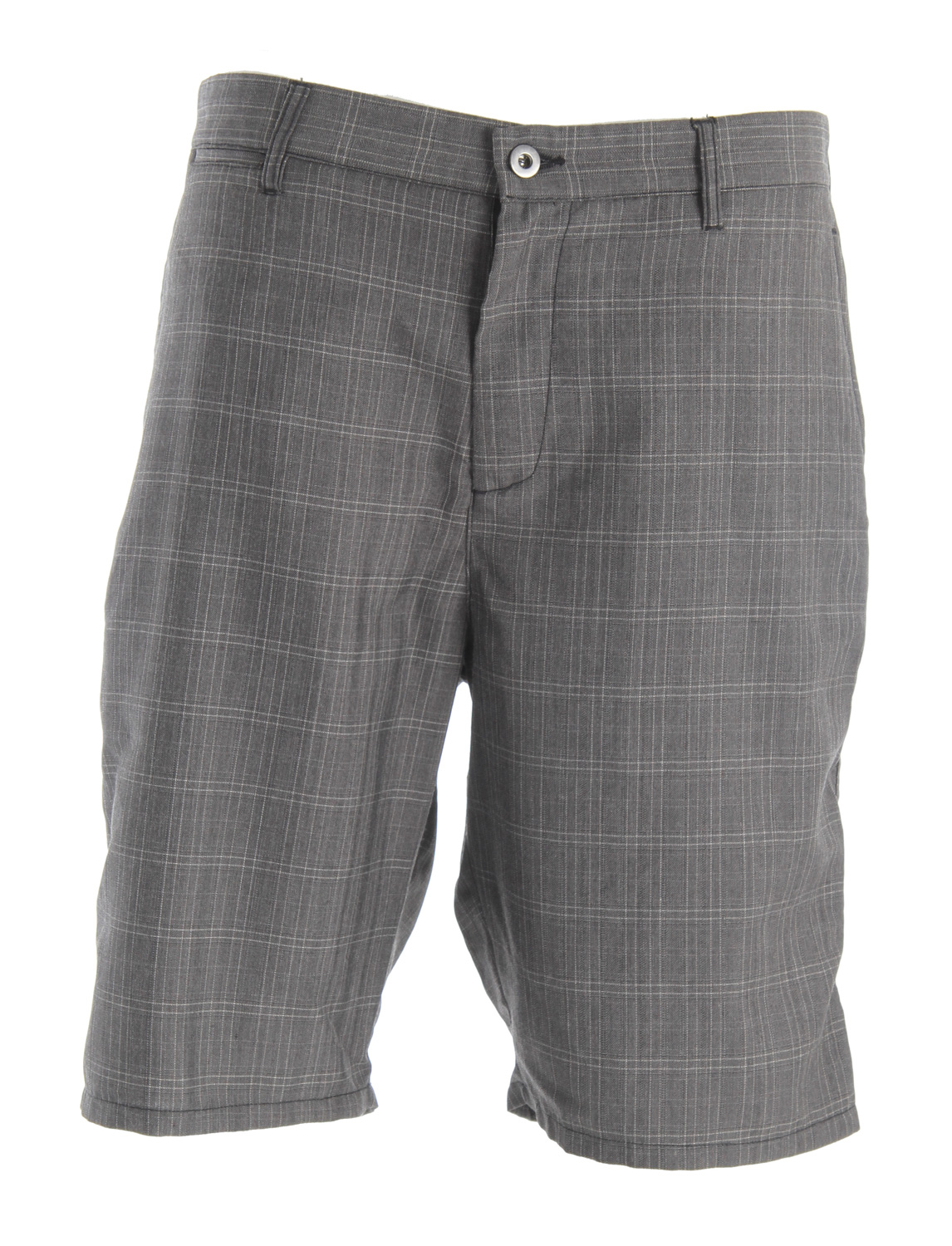 "Skateboard Key Features of the DC Romano Short Shorts: Yarn dye small plaid walkshort with classic chino fit with rear welt pockets and front coin pocketYKK zip flyWoven label trim detail22"" outseam65% polyester/35% rayon - $34.95"