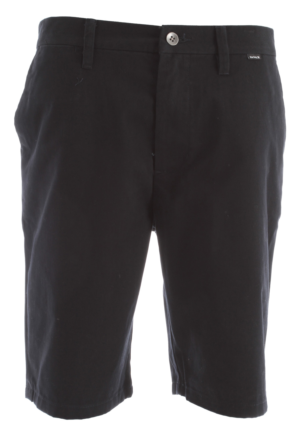 Surf Key Features of the Hurley One & Only 2.0 Shorts: Trouser Fit 60% Cotton40% Polyester Twill Welt back pockets Coin pocket Metal button closure at waistband and back pockets Interior butterflied seams Woven label branding, high density heat transfer branding and self applique icon at waistband. - $31.95