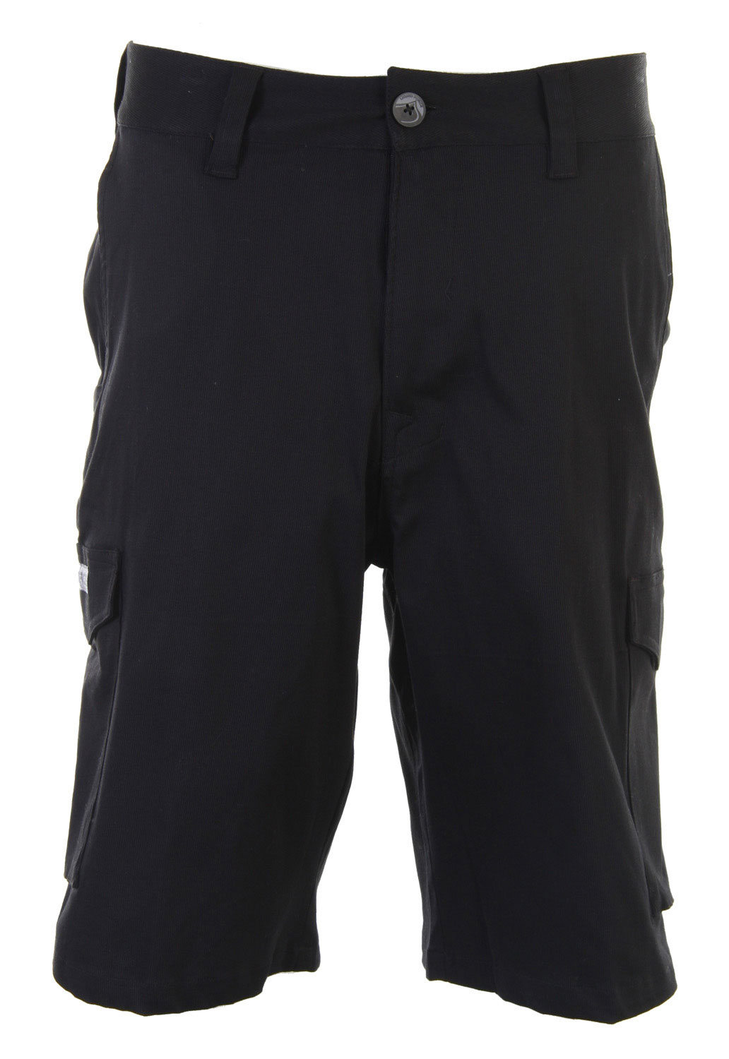 "Add this classic piece to your wardrobe. The Liquid Force Game day Shorts is made with cotton and lycra. Featuring a classic cut with a solid color throughout, these shorts will go with almost anything in your closet. With pockets on the side, this cargo short is casual for daytime wear. Style it with your favorite polo shirt or a simple T-shirt and you're ready to explore town.Key Features of the Liquid Force Gameday Shorts: 23"" Outseam walkshort 95% cotton, 5% Lycra Side Cargo and Cell phone pockets - $23.95"
