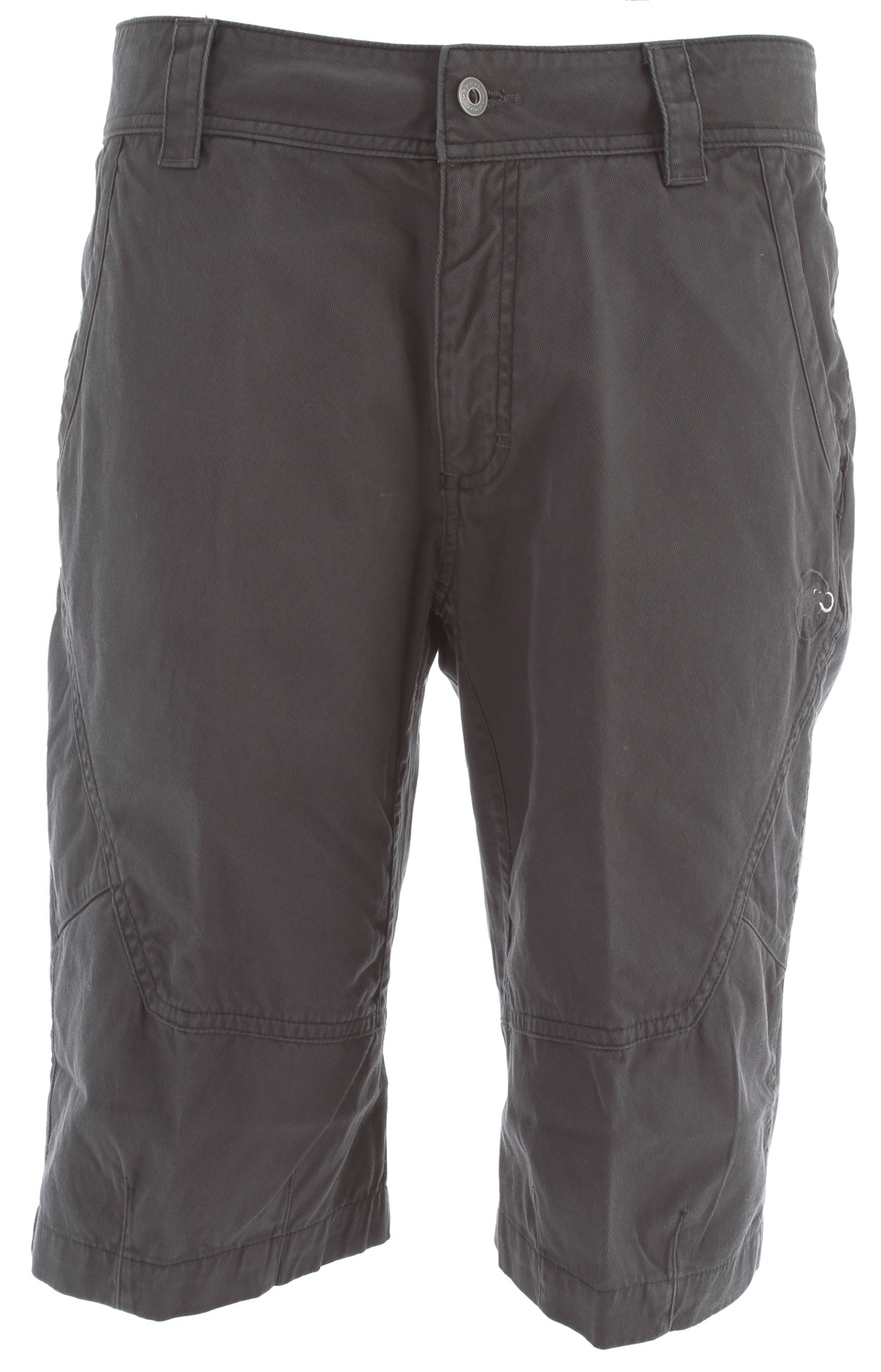 Camp and Hike One of the first two Mammut bioRe organic cotton climbing shorts for men. The Fusion is distinguished by reinforcement inserts at the knees and seat. It also has a small pocket for a mobile phone and the wide cut and gusseted crotch ensure good freedom of movement.Key Features of the Mammut Fusion Short: bioRe® Organic Cotton 2 front pockets 2 seat pockets 1 small mobile phone pocket on the side Chalk bag attachment on back of waist band Wide, loose cargo cut Robust and abrasion proof cotton fabric Vintage look Optimally suitable for: Multipitch Rockclimbing, Sportsclimbing, Bouldering / Urban Climbing Suitable for: Via Ferrata, Travel, Mountain Hiking, Gym Climbing Regular Fit - $68.95