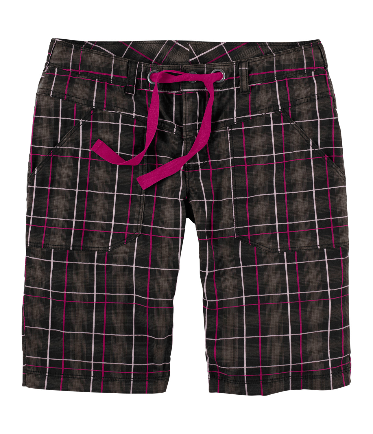 New midweight cotton short features slight Elastane stretch twill fabric for increased movement and comfort on the trail. Available in two inseam length, and plaid or solid fabric depending on color selection.Key Features of The North Face Noble Stretch Shorts: Midweight, breathable, stretch cotton for all-around versatility Ultraviolet protection factor (UPF) 50 Constructed waist with drawstrings - $27.95
