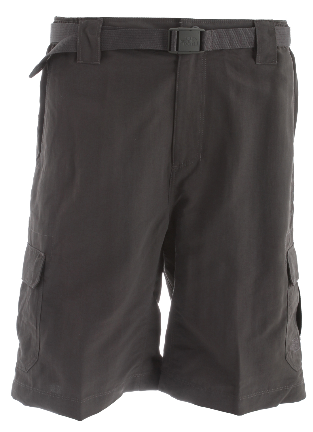Camp and Hike Core hiking short features a rugged, abrasion-resistant, DWR treated fabric.Key Features of the The North Face Paramount Cargo Shorts: Fabric: 177 g/m 100% nylon faille (bluesign approved fabric) Durable, midweight, abrasion-resistant nylon DWR finish Ultraviolet protection factor (UPF) 30 Quick-drying Partial elastic waist with belt loops and belt included Side cargo pockets Gusseted crotch for increased mobility Zip back pocket - $34.95