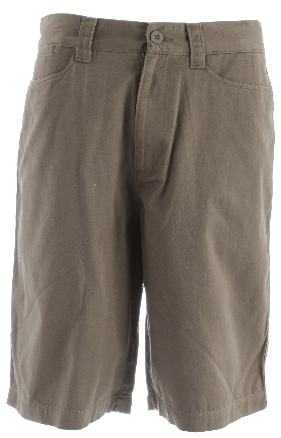 Key Features of the The North Face Silverton Shorts: Fabric: 100% cotton Soft, peached cotton with heritage wash Ultraviolet protection factor (UPF) 50 Gusset at crotch Secure back pockets with Velcro closure - $30.95