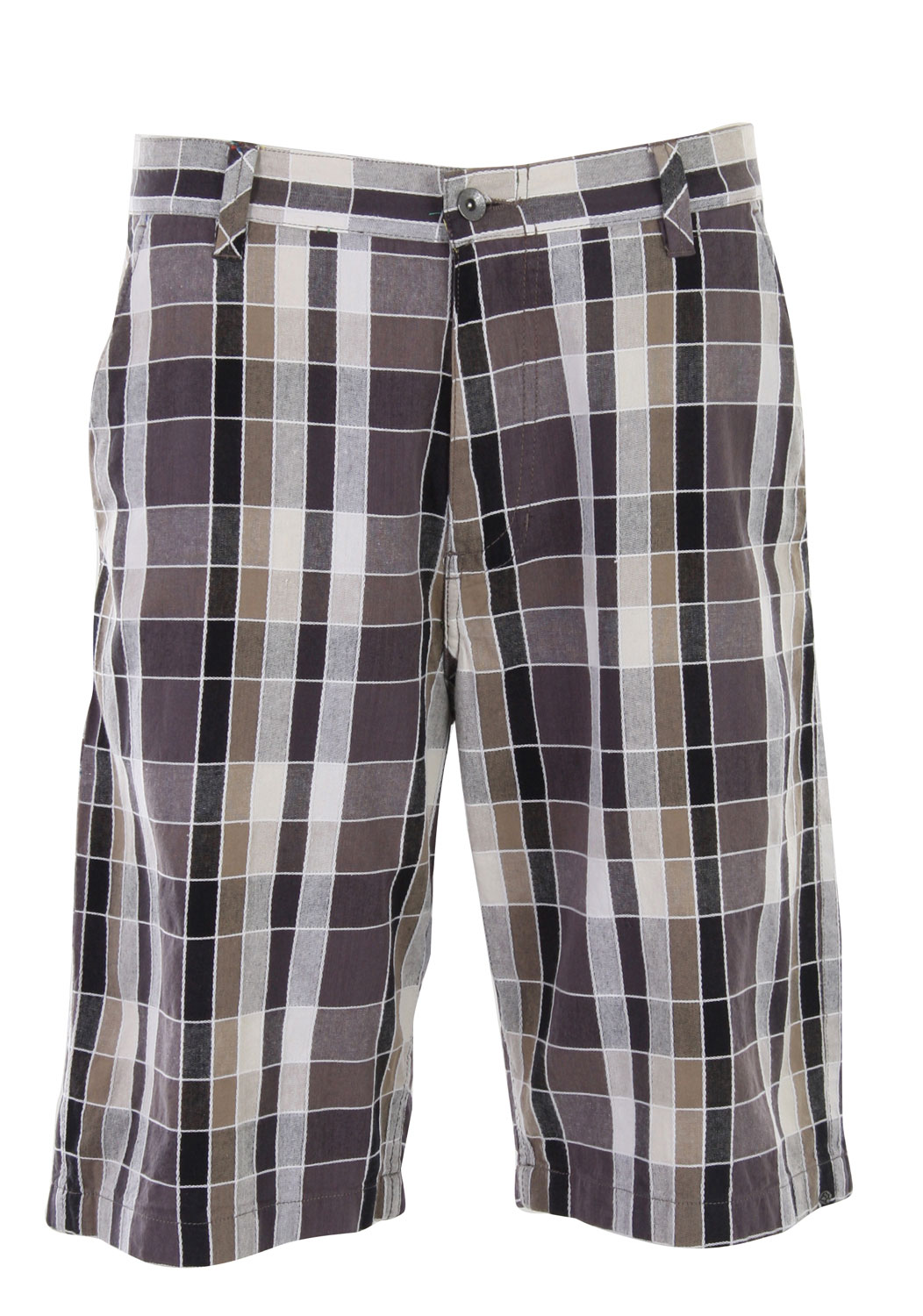 Surf Sport these shorts on a nice summer day out. The Reef Bold Seagull 2 Shorts is made with 100% cotton offering true comfort and quality. It's soft to the touch, can be worn all day long with comfort and ease. Its plaid design adds a trendy touch to today's style. It's a regular fit featuring two front and two back pockets. Feel comfortable and confident rocking it out with the Reef Bold Seagull 2 Shorts.Key Features of the Reef Bold Seagull 2 Shorts: Allover yarn-dyed dobby check Regular fit Button closure with zip fly Front hand pockets Two back pockets Embroidered logo under back right welt pocket Printed pocketing Small media pocket at ride leg Logo detail at right hemline Outseam: 23 Inseam: 11 100% cotton - $31.95