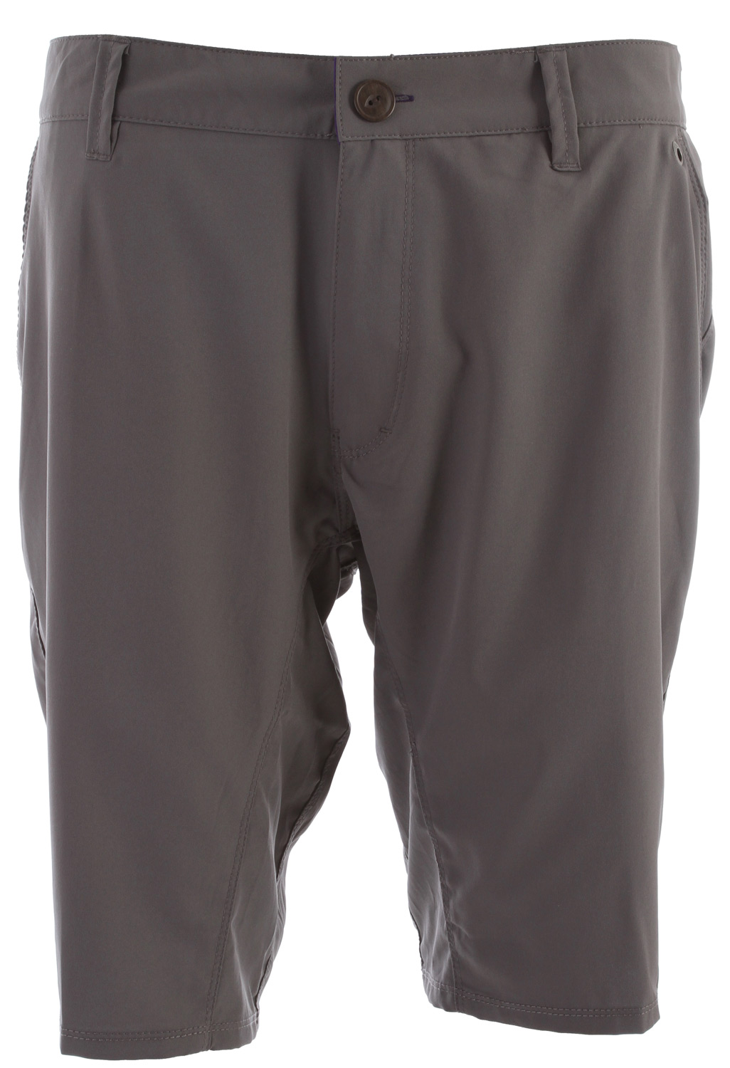 "Surf Key Features of the Reef Warm Water II Shorts: Recycled mechanical stretch fabric 50% recycled polyester ""land 2 sea"" surfable walkshort in chino silhouette mesh pocketbags new slim fit 20"" outseam - $37.95"
